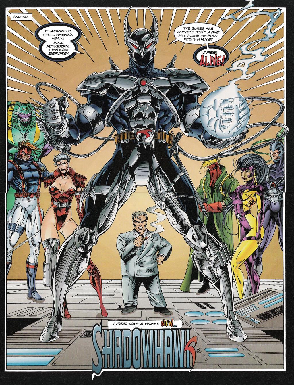 Read online ShadowHawk comic -  Issue #13 - 16