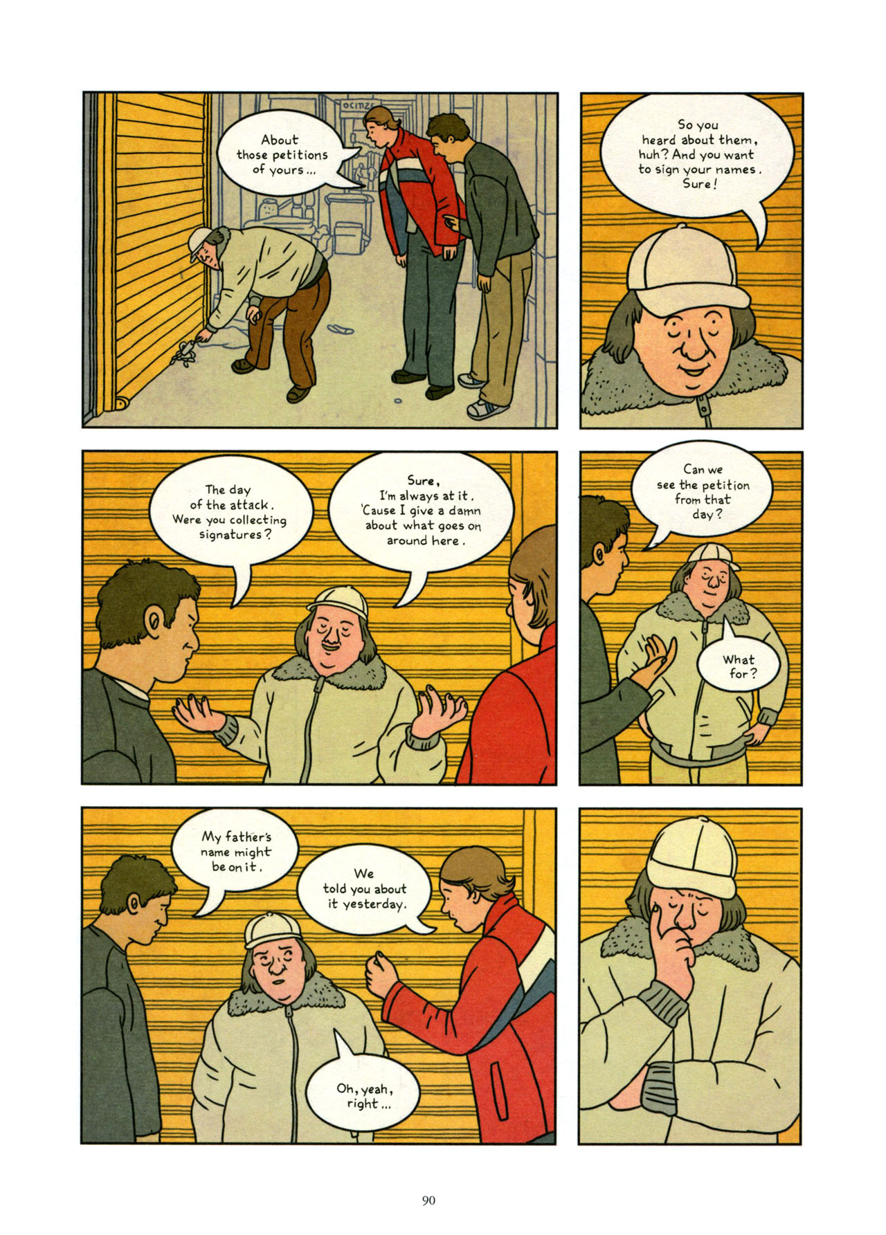 Read online Exit Wounds comic -  Issue # TPB - 91