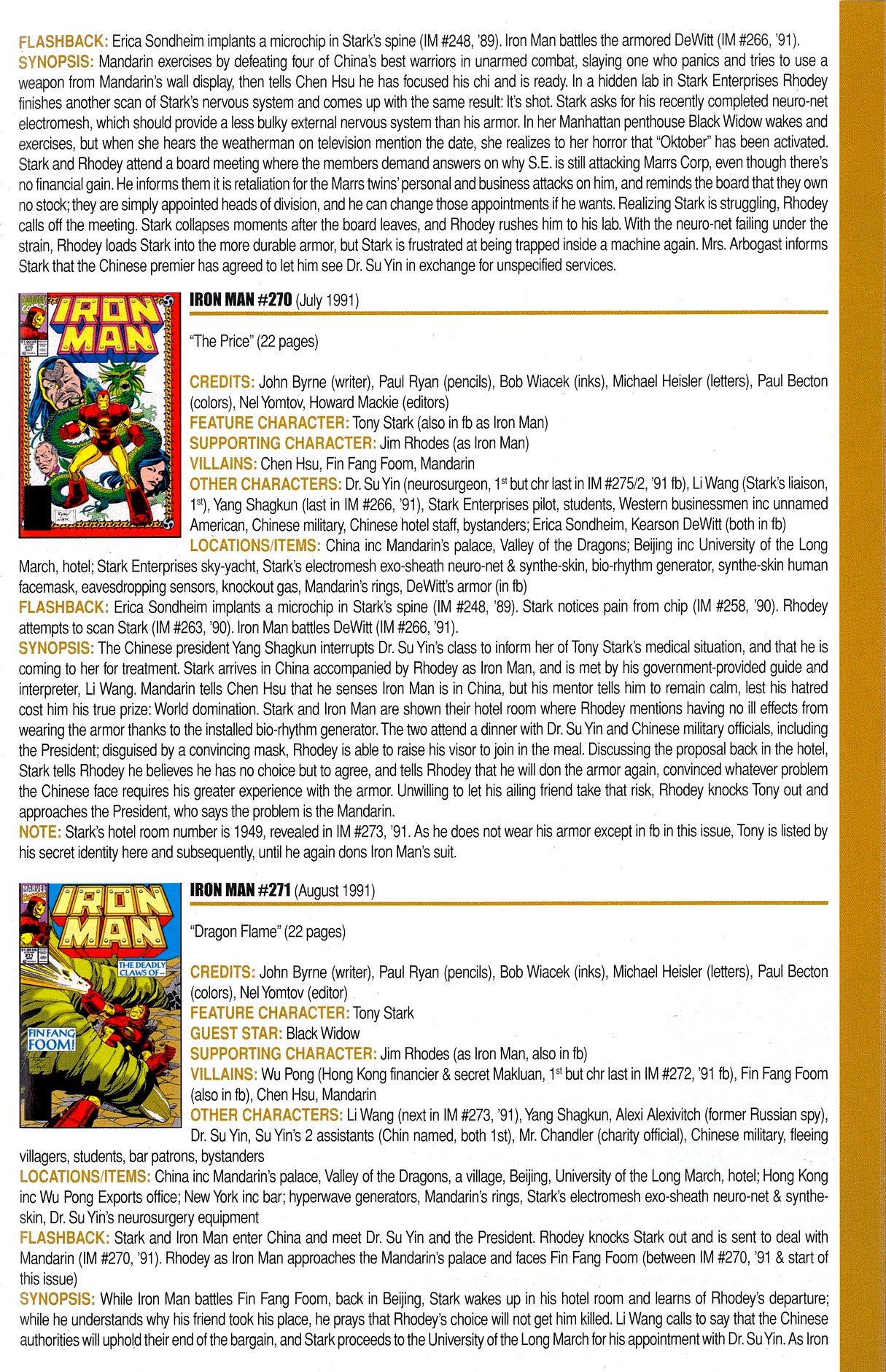 Read online Official Index to the Marvel Universe comic -  Issue #8 - 29