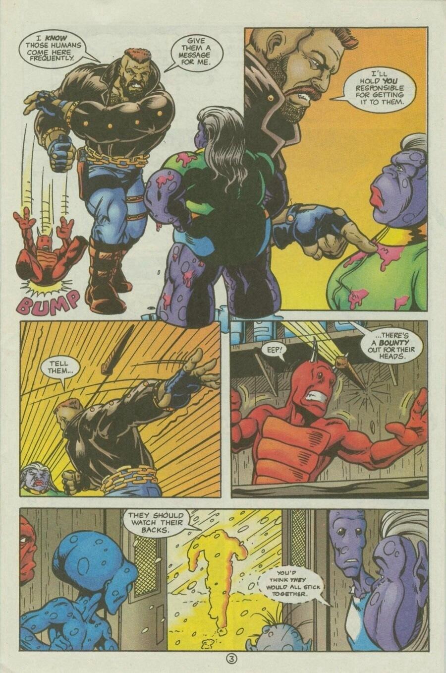 Read online Ex-Mutants comic -  Issue #10 - 5