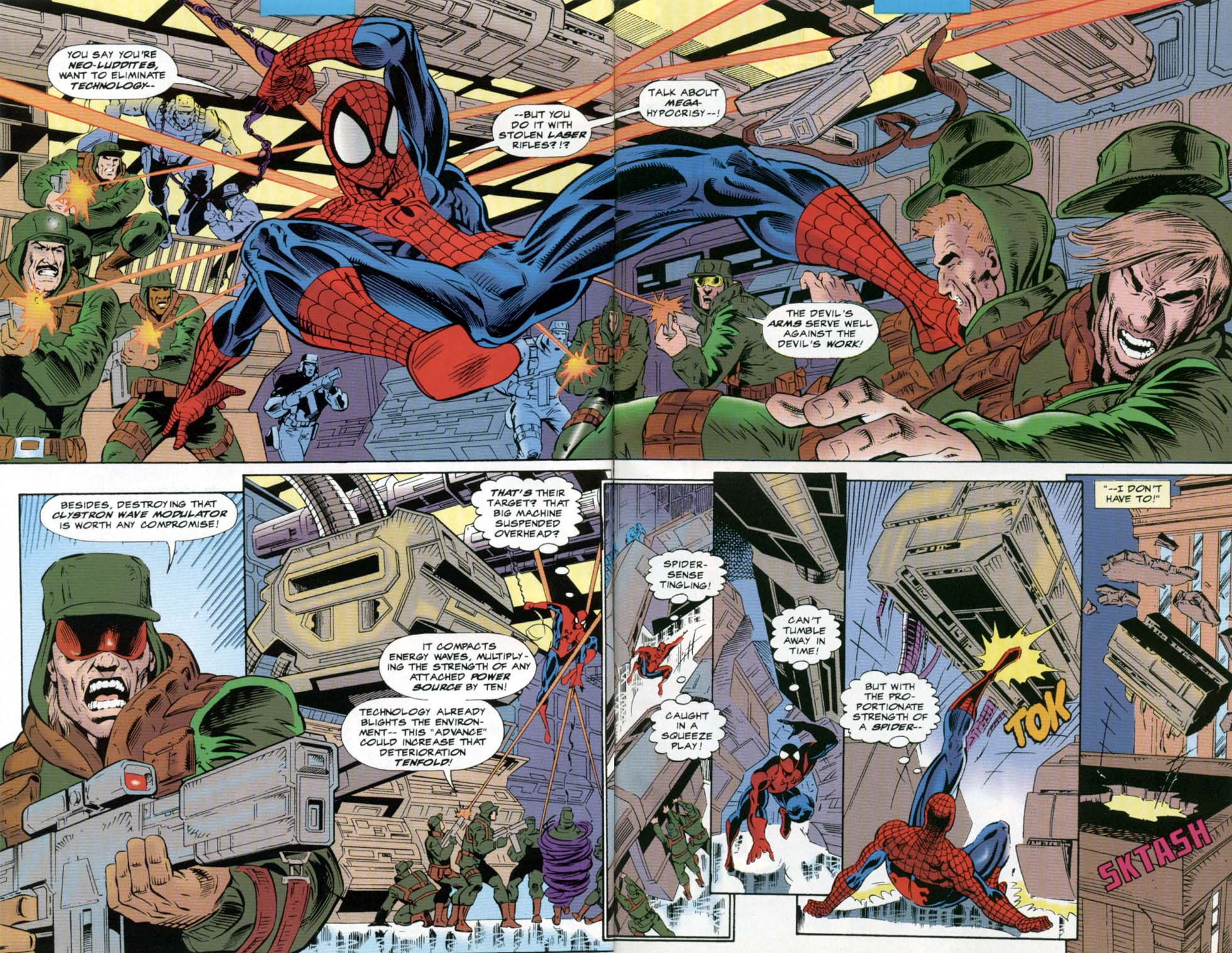 Amazing Spider-Man Super Special Full Page 3