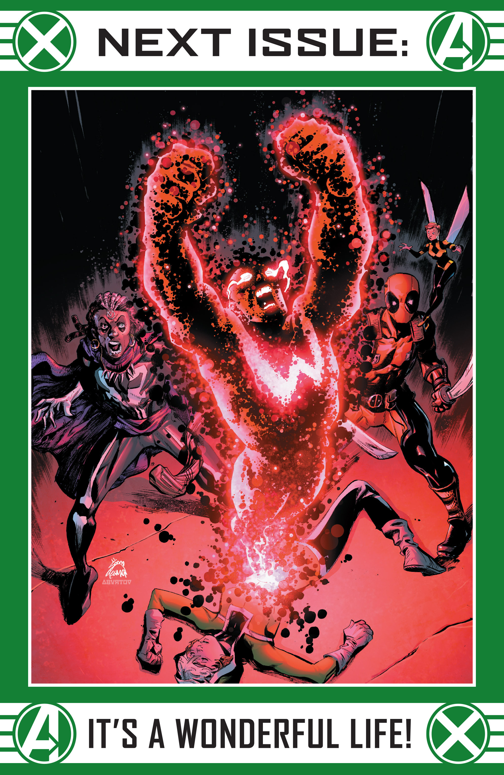 Read online Uncanny Avengers [II] comic -  Issue #22 - 23