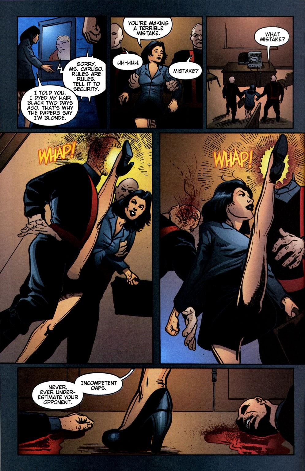 Read online Vampire the Masquerade comic -  Issue # Giovanni - 8