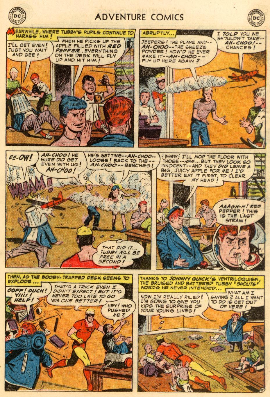 Read online Adventure Comics (1938) comic -  Issue #195 - 29
