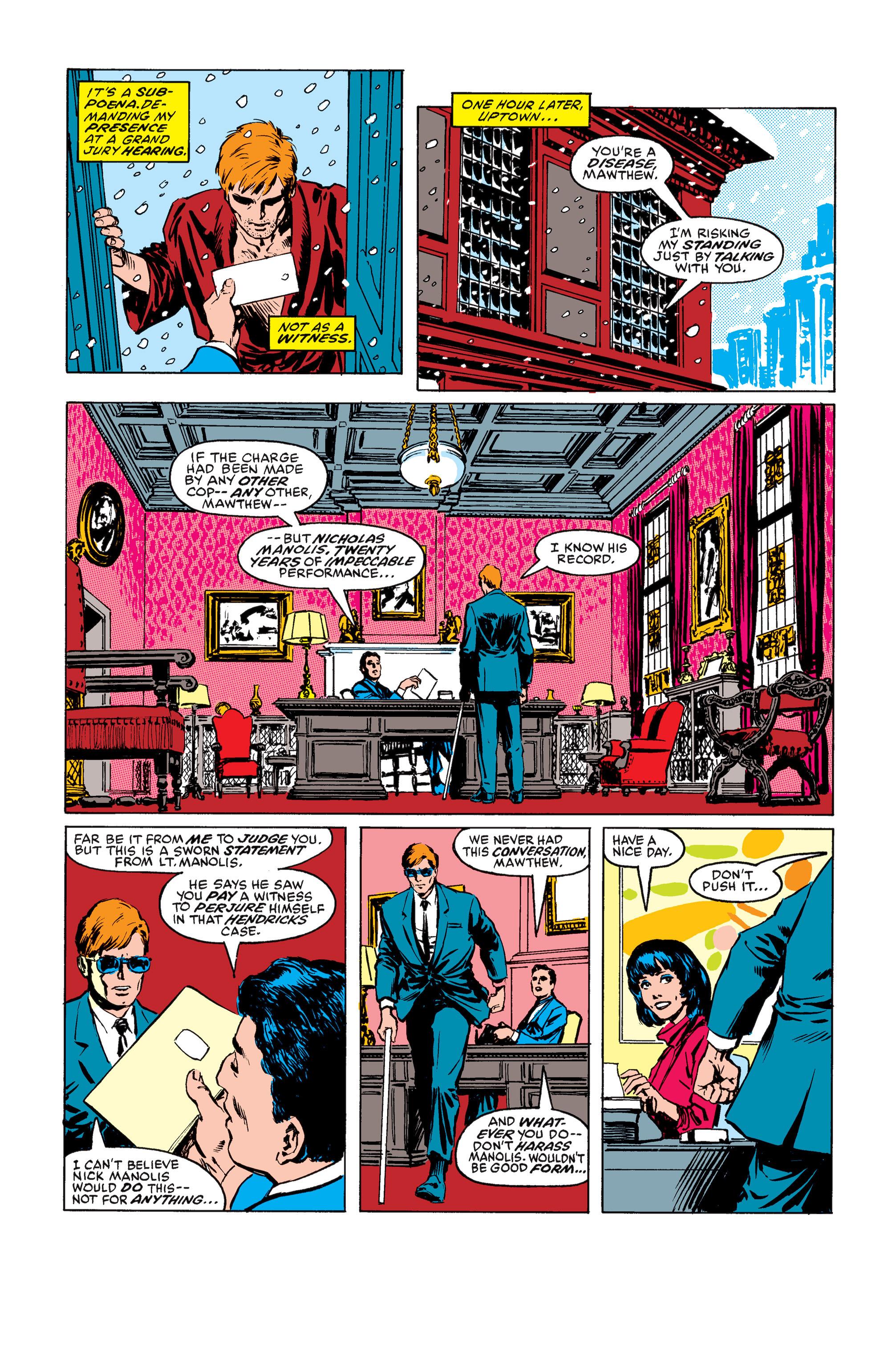 Read online Daredevil: Born Again comic -  Issue # Full - 36