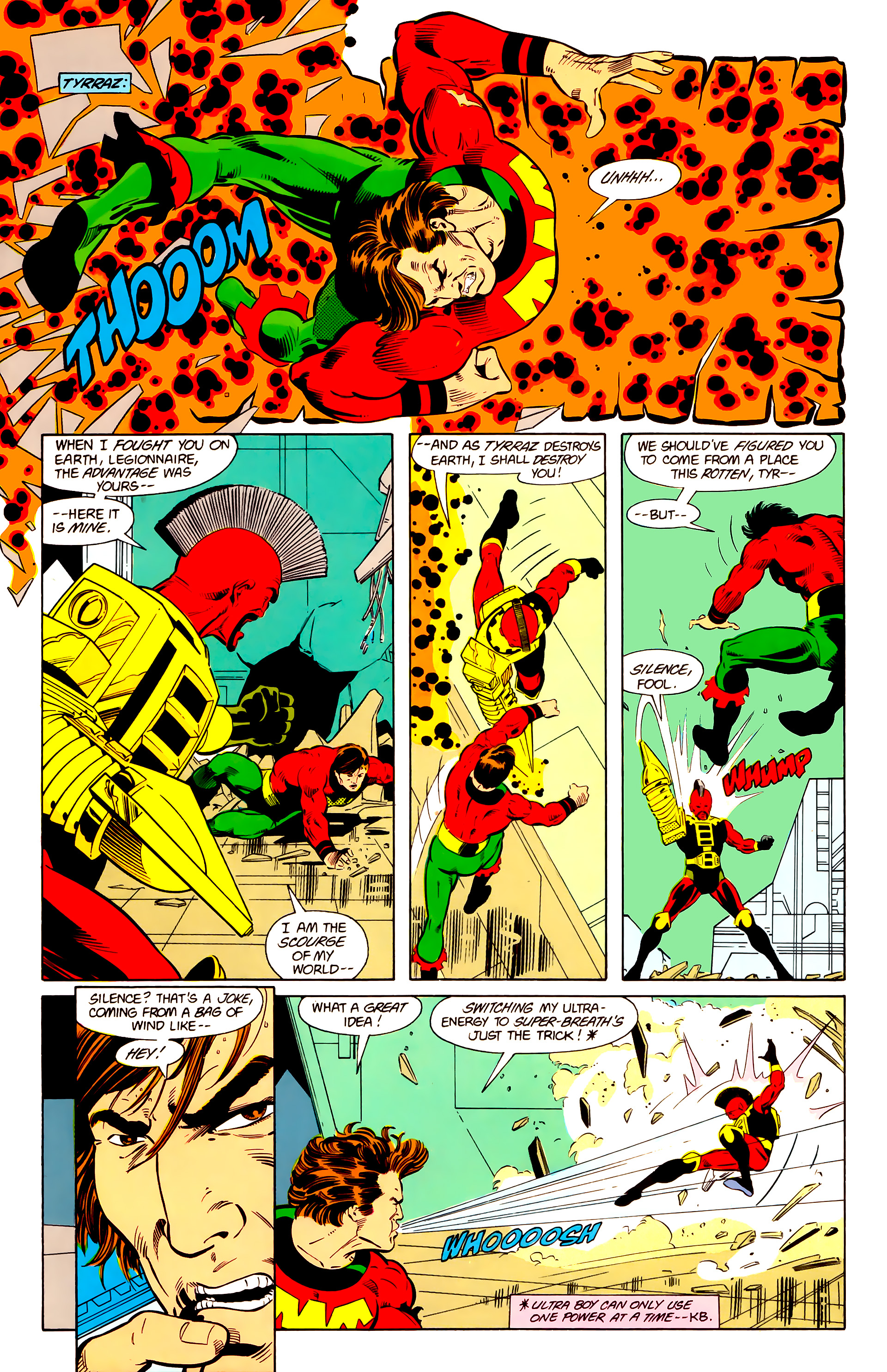 Legion of Super-Heroes (1984) 20 Page 8