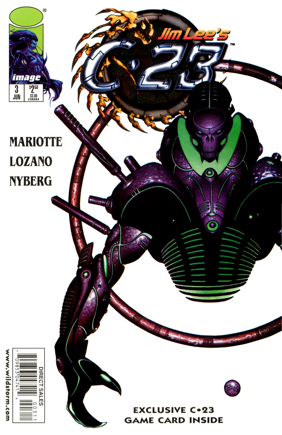 Read online C-23 comic -  Issue #3 - 1