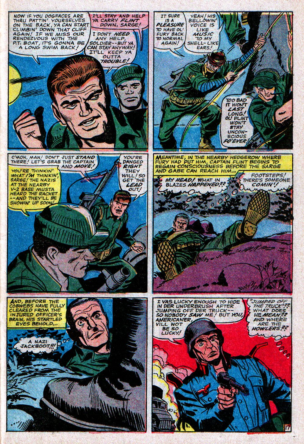 Read online Sgt. Fury comic -  Issue #11 - 23