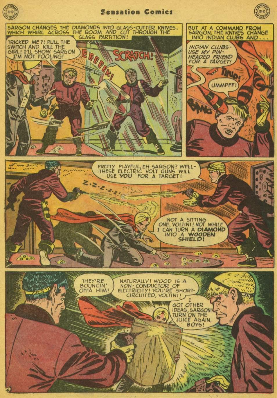 Read online Sensation (Mystery) Comics comic -  Issue #80 - 27