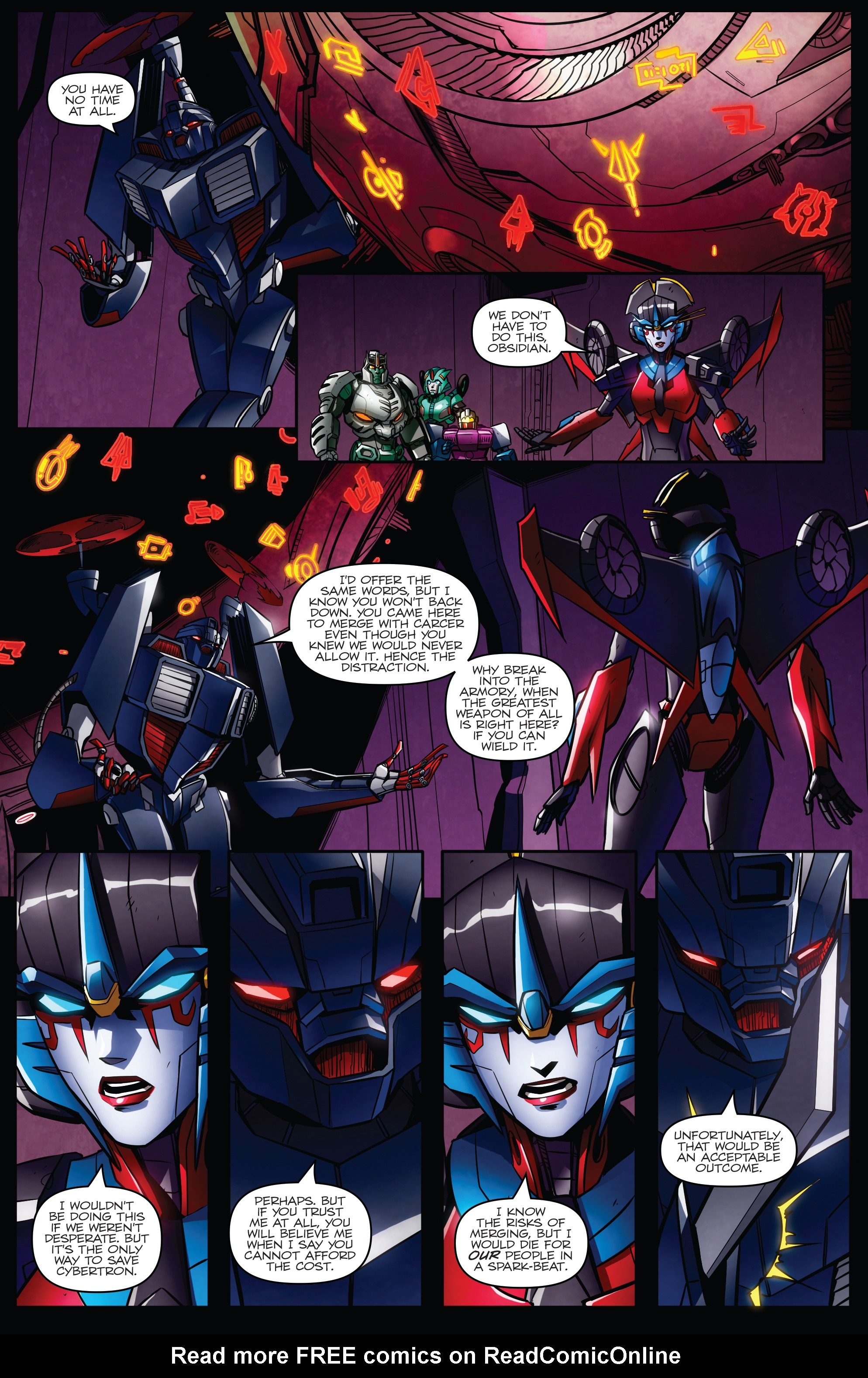 Read online Transformers: Till All Are One comic -  Issue #7 - 20