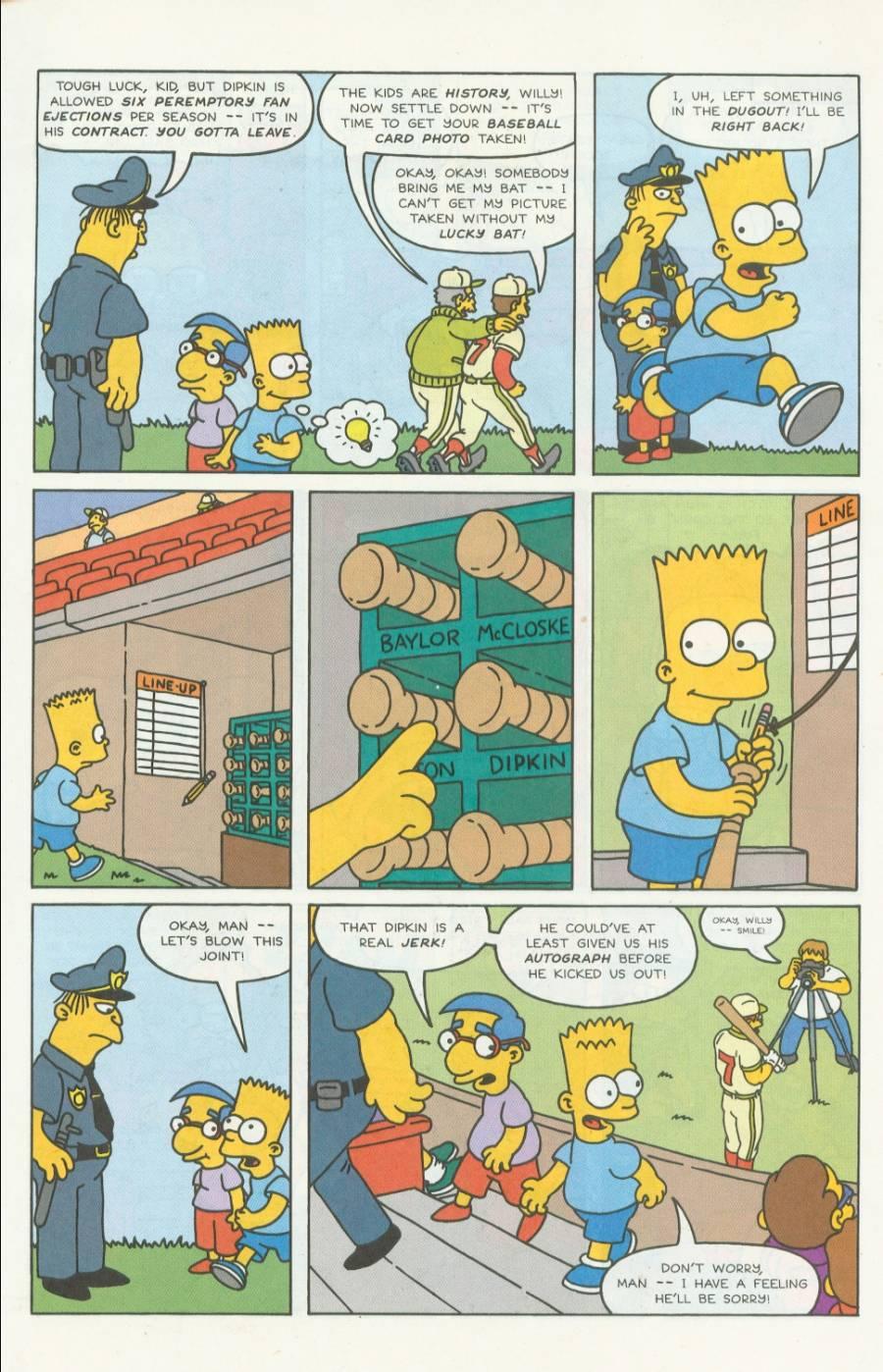 Read online Simpsons Comics comic -  Issue #4 - 10