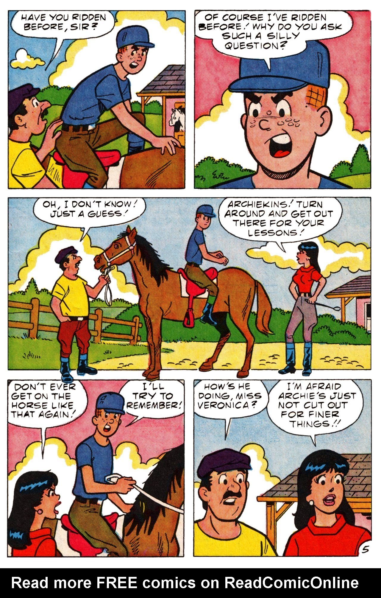 Read online Archie (1960) comic -  Issue #361 - 8