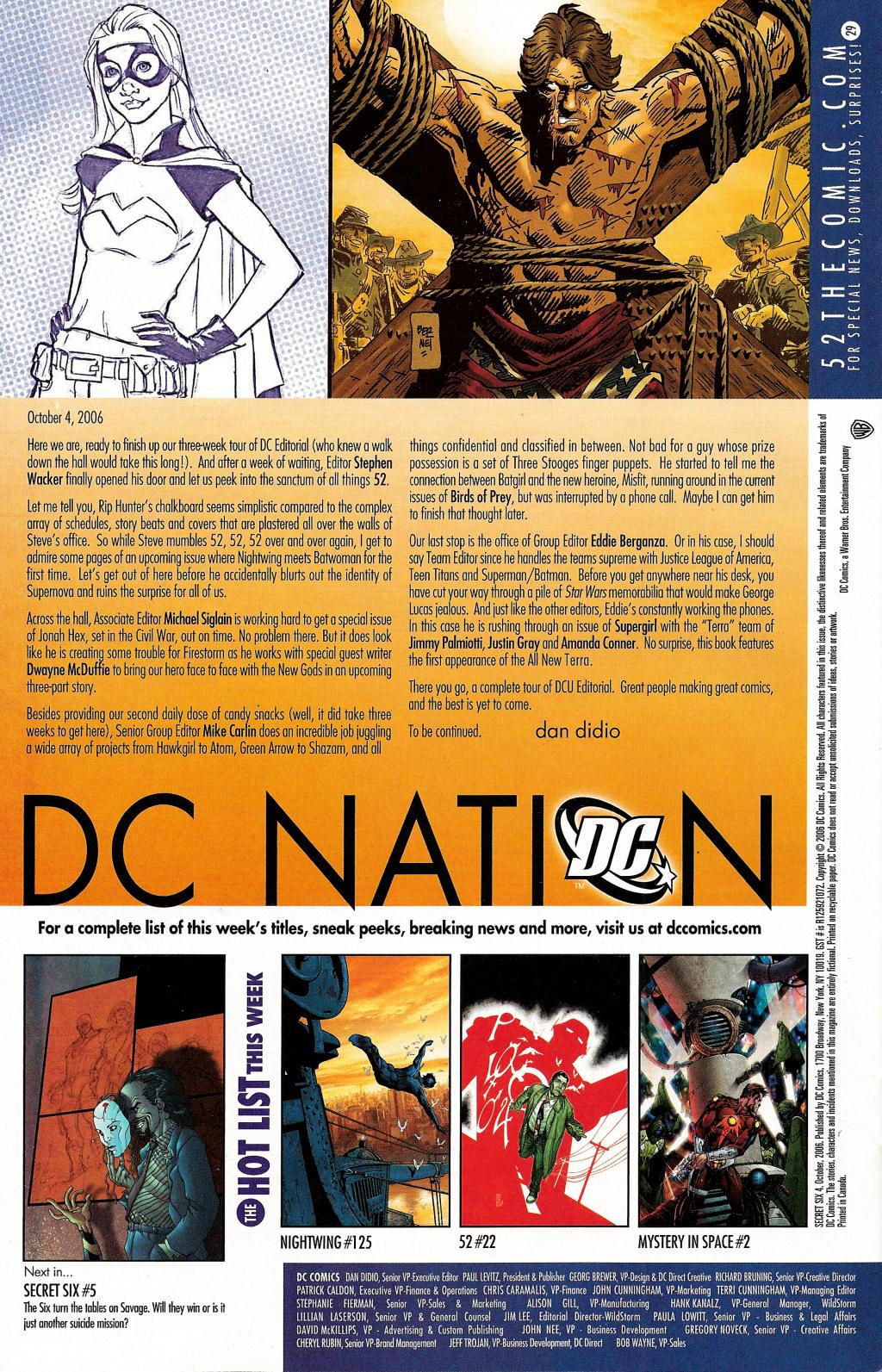 Read online Secret Six (2006) comic -  Issue #4 - 33