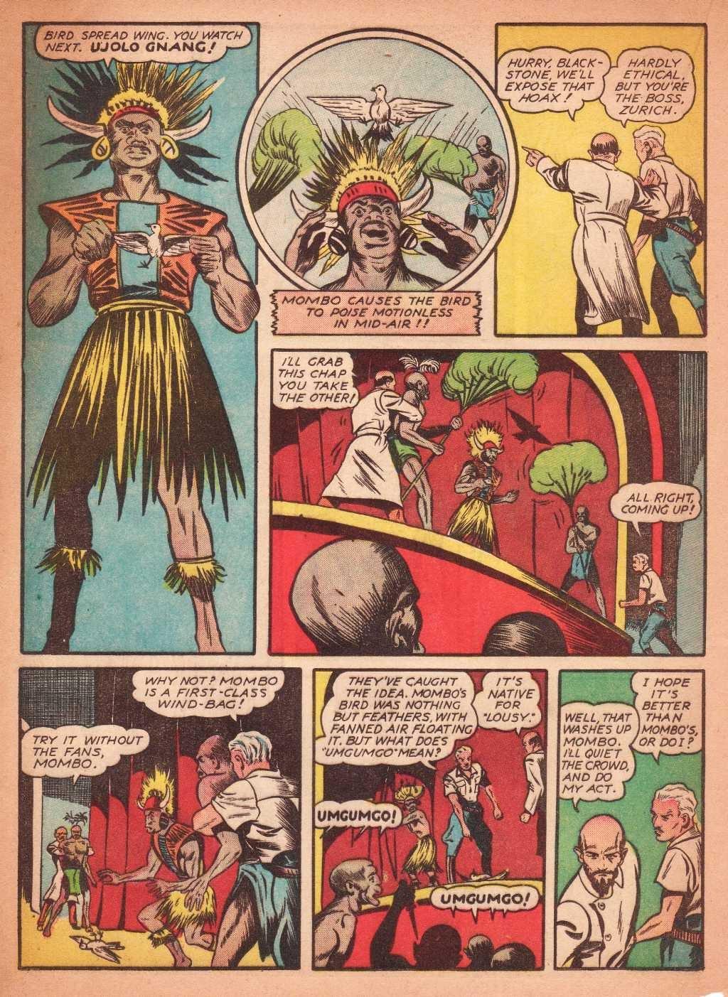 Read online Super-Magician Comics comic -  Issue #2 - 28