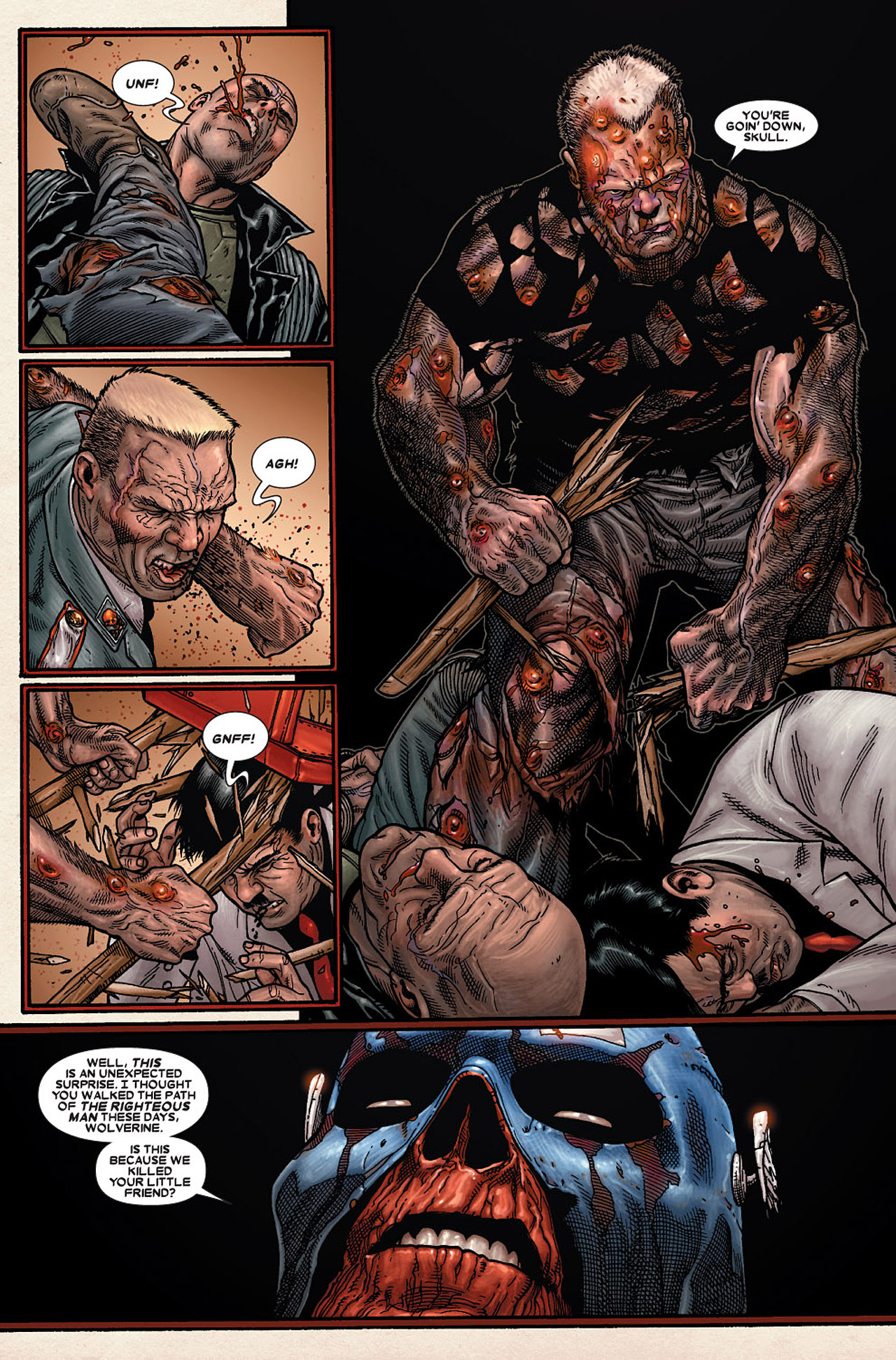Read online Wolverine: Old Man Logan comic -  Issue # Full - 146