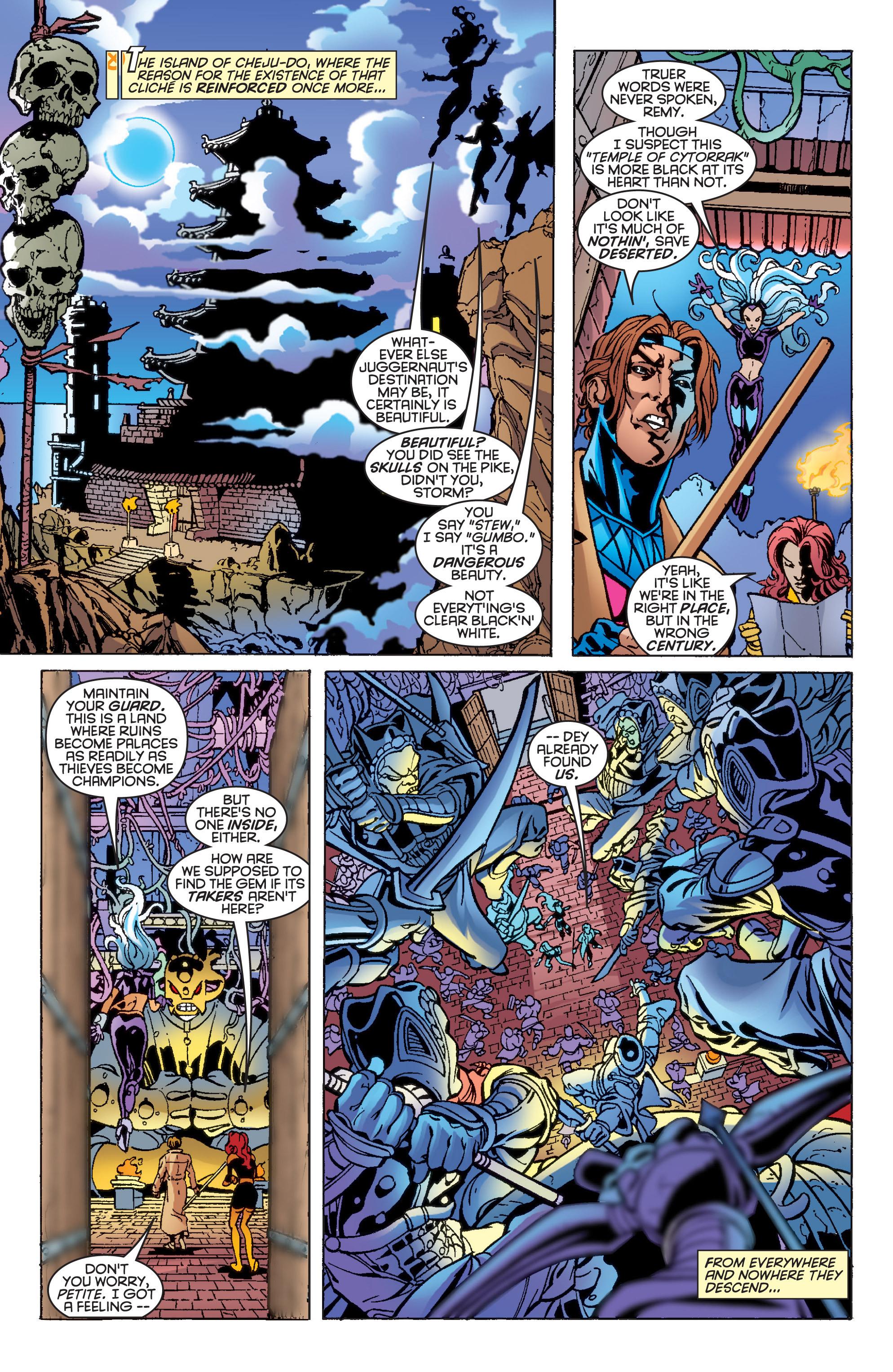 Read online Uncanny X-Men (1963) comic -  Issue #361 - 18