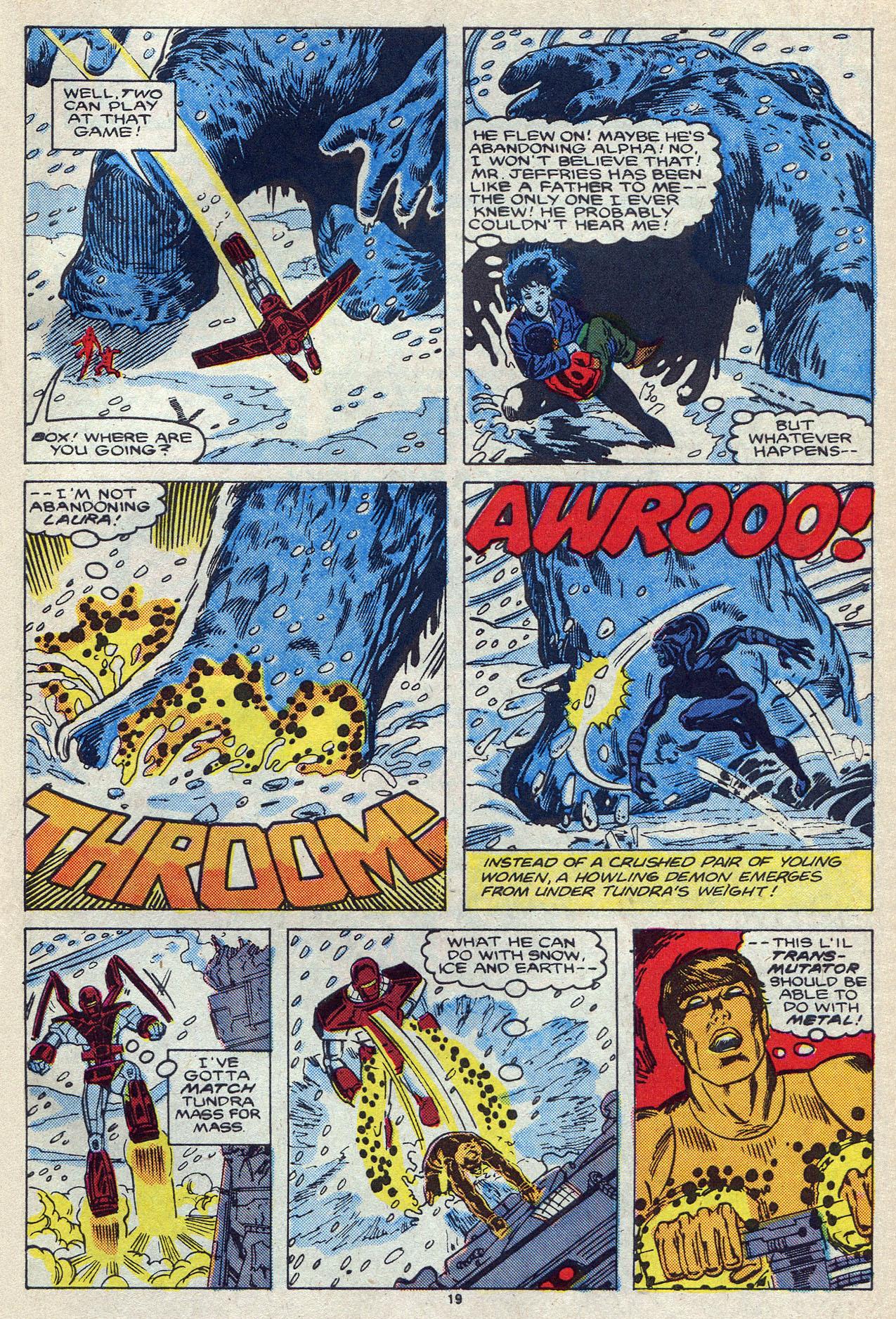 Read online Alpha Flight (1983) comic -  Issue #55 - 26