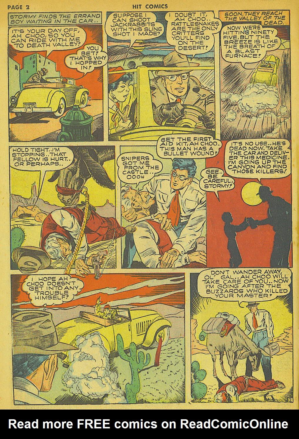 Read online Hit Comics comic -  Issue #21 - 4