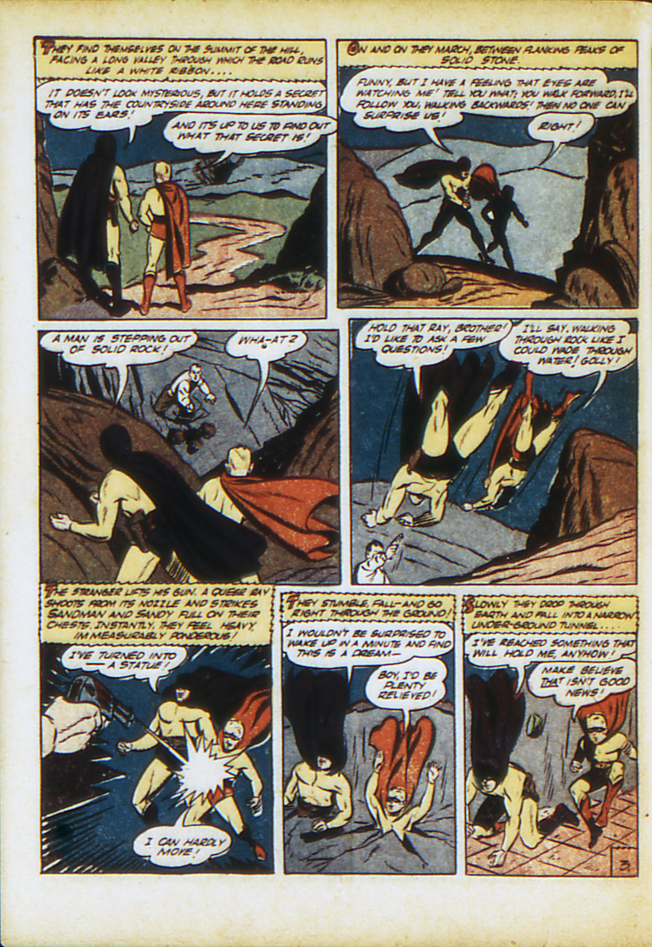 Read online Adventure Comics (1938) comic -  Issue #71 - 61