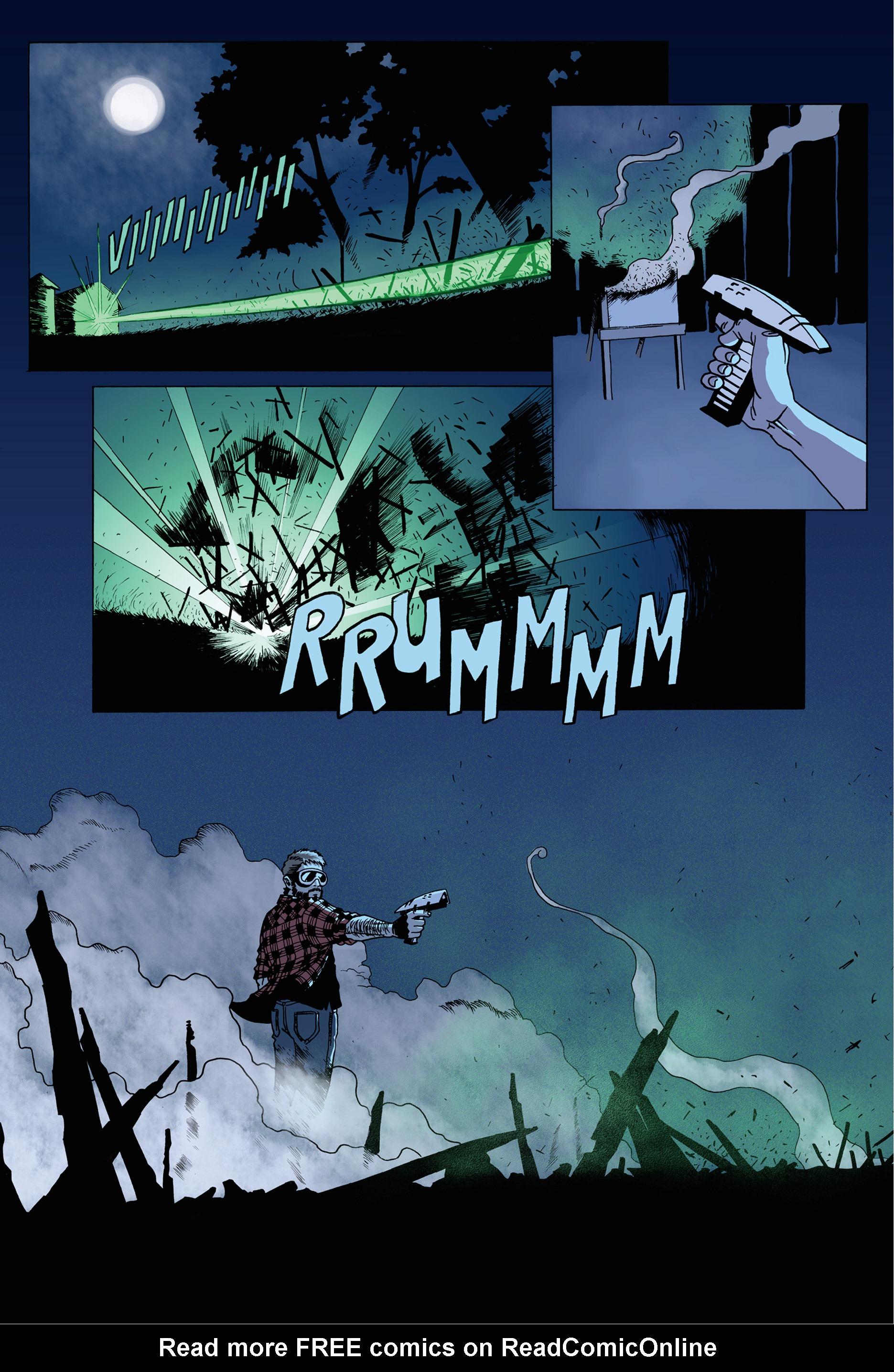 Read online Trespasser comic -  Issue #1 - 15
