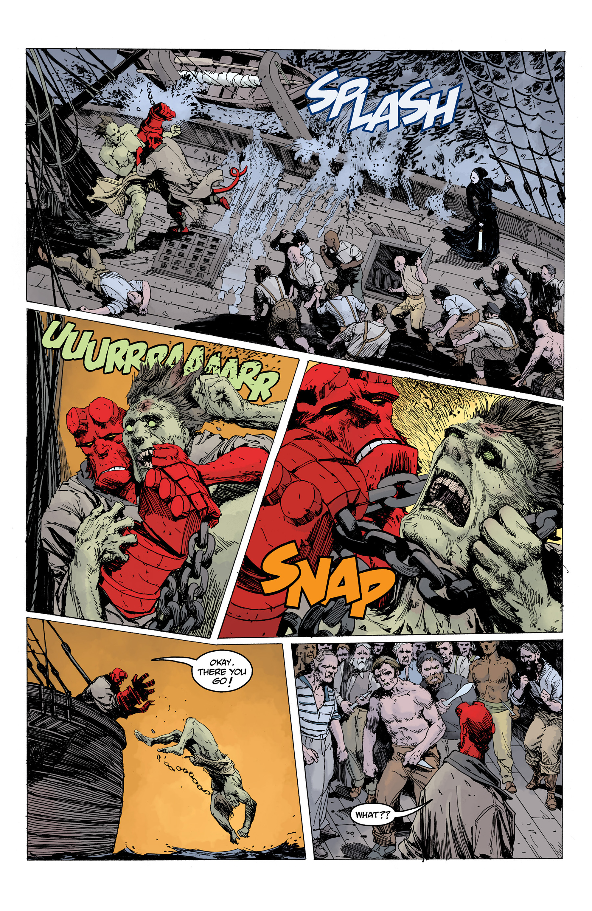 Read online Hellboy: Into the Silent Sea comic -  Issue # Full - 40