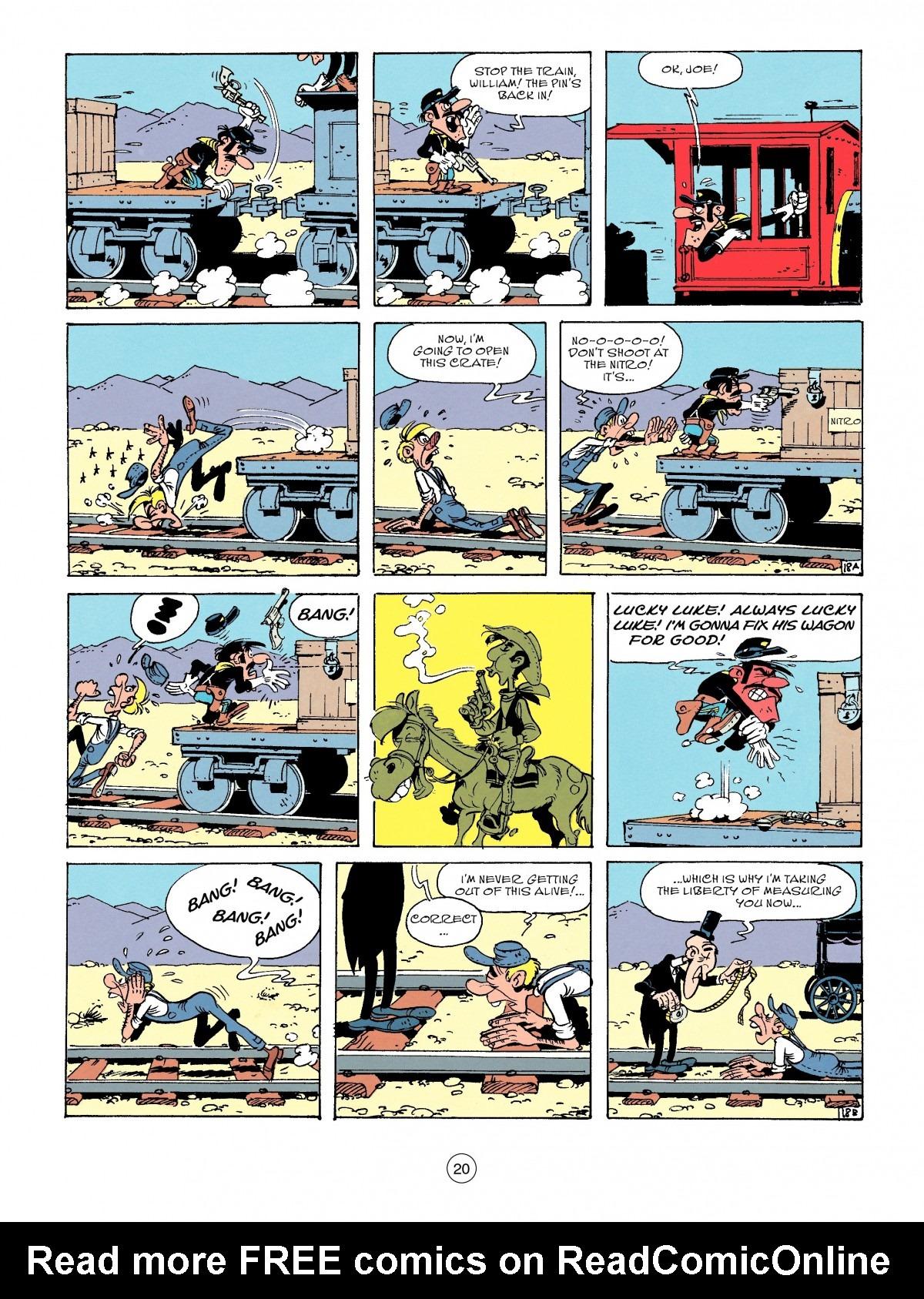 Read online A Lucky Luke Adventure comic -  Issue #53 - 20
