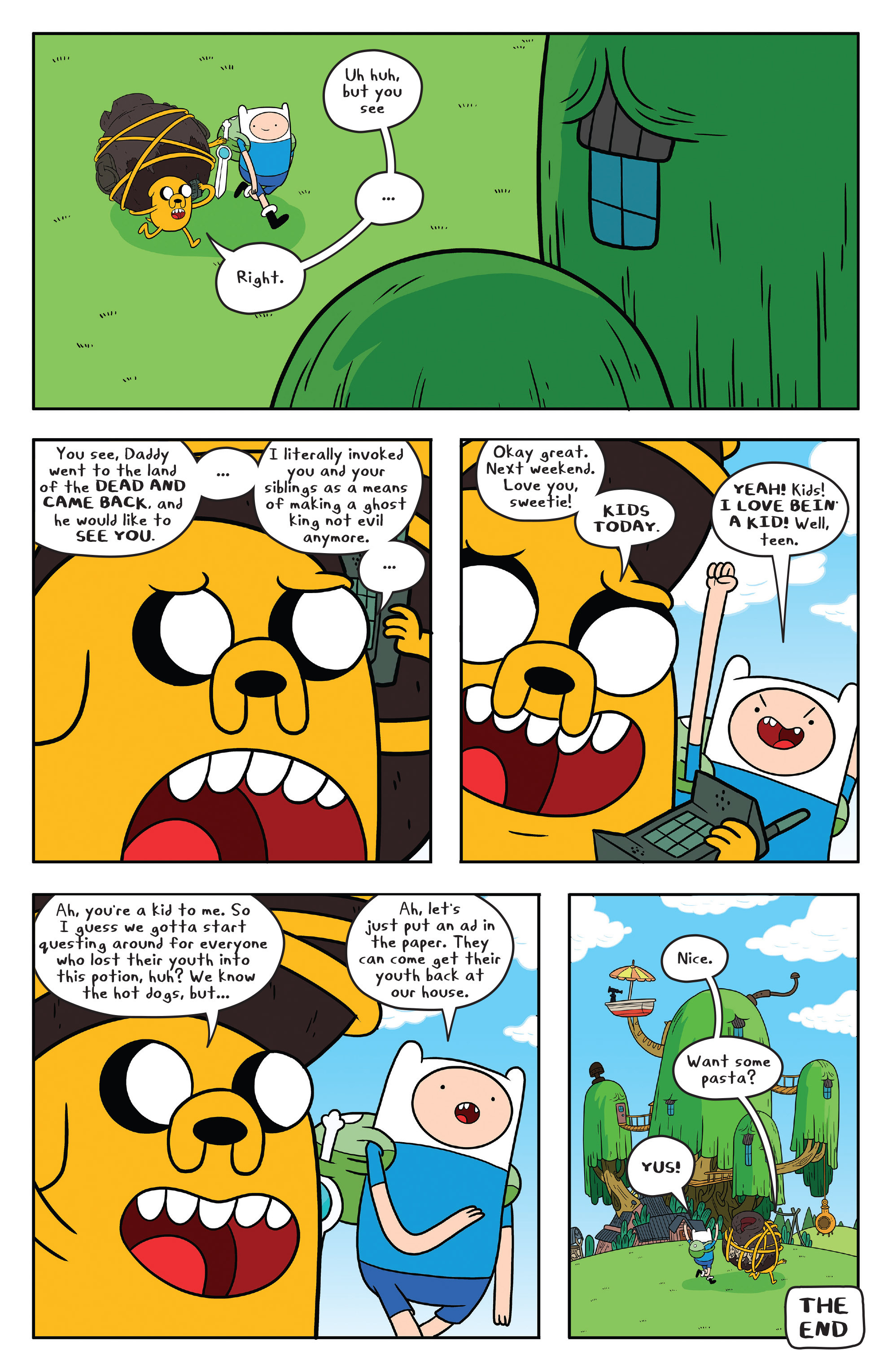 Read online Adventure Time comic -  Issue #53 - 24