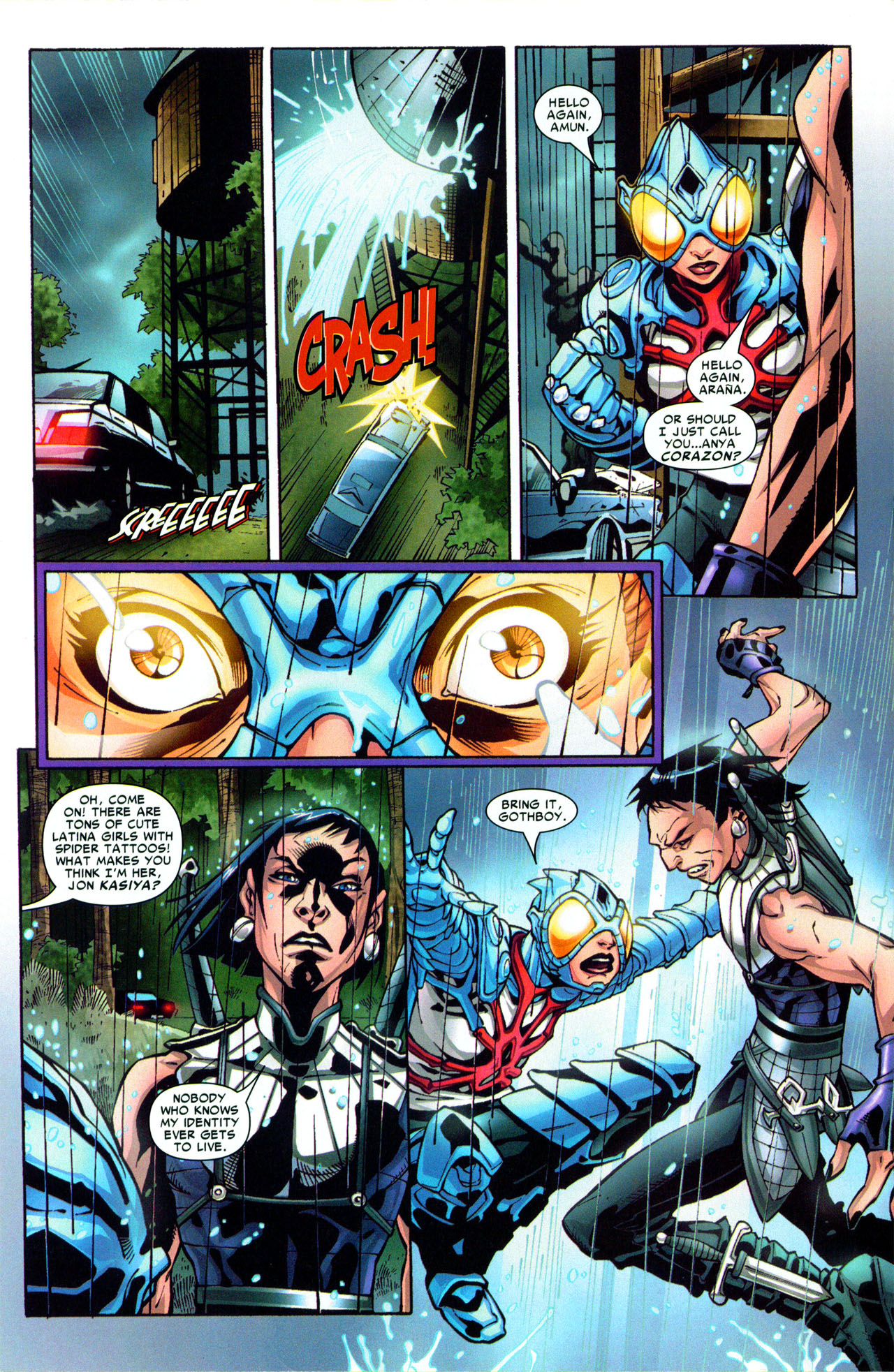 Read online Araña: Heart of the Spider comic -  Issue #3 - 17