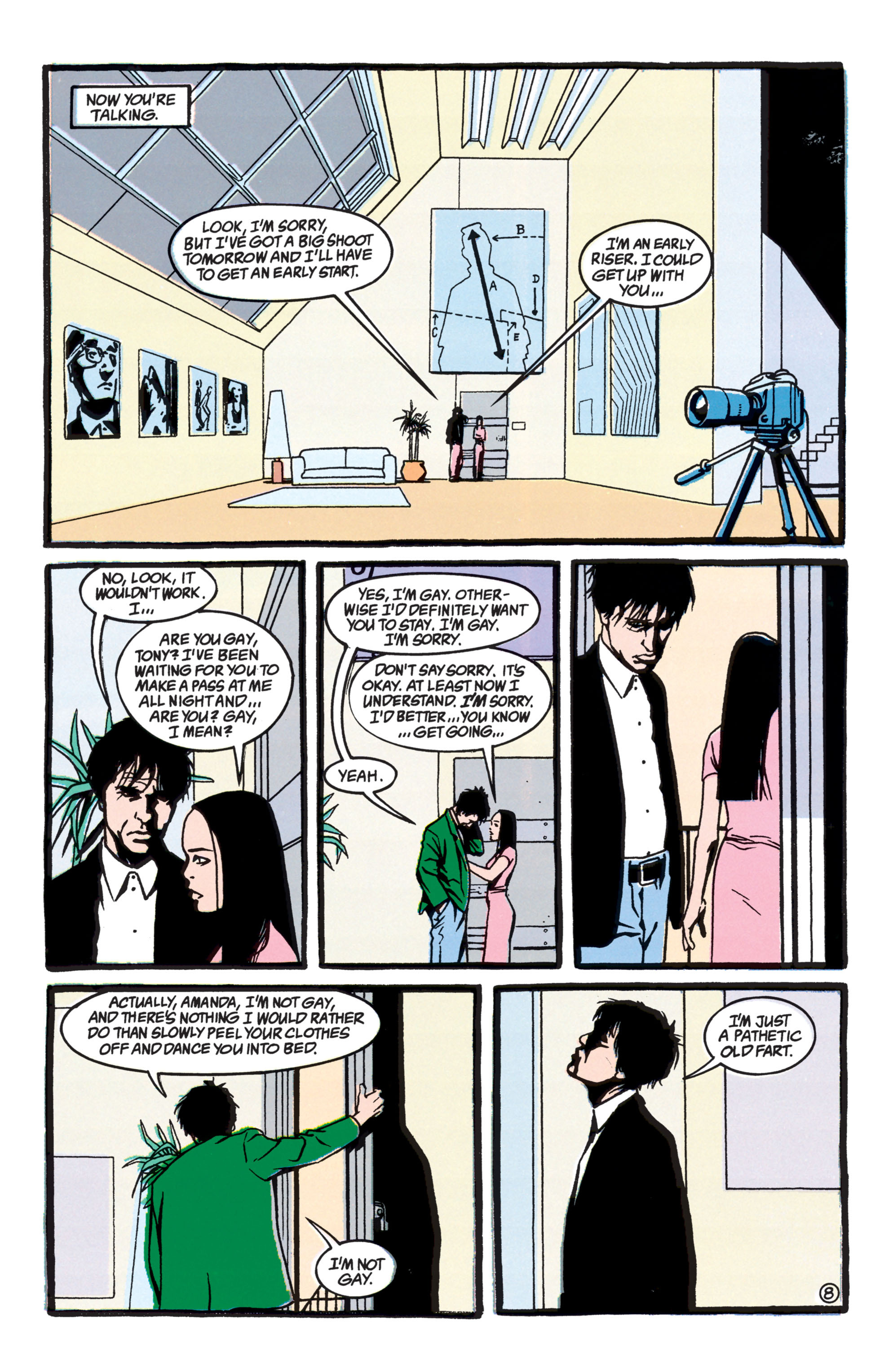 Read online Shade, the Changing Man comic -  Issue #40 - 9