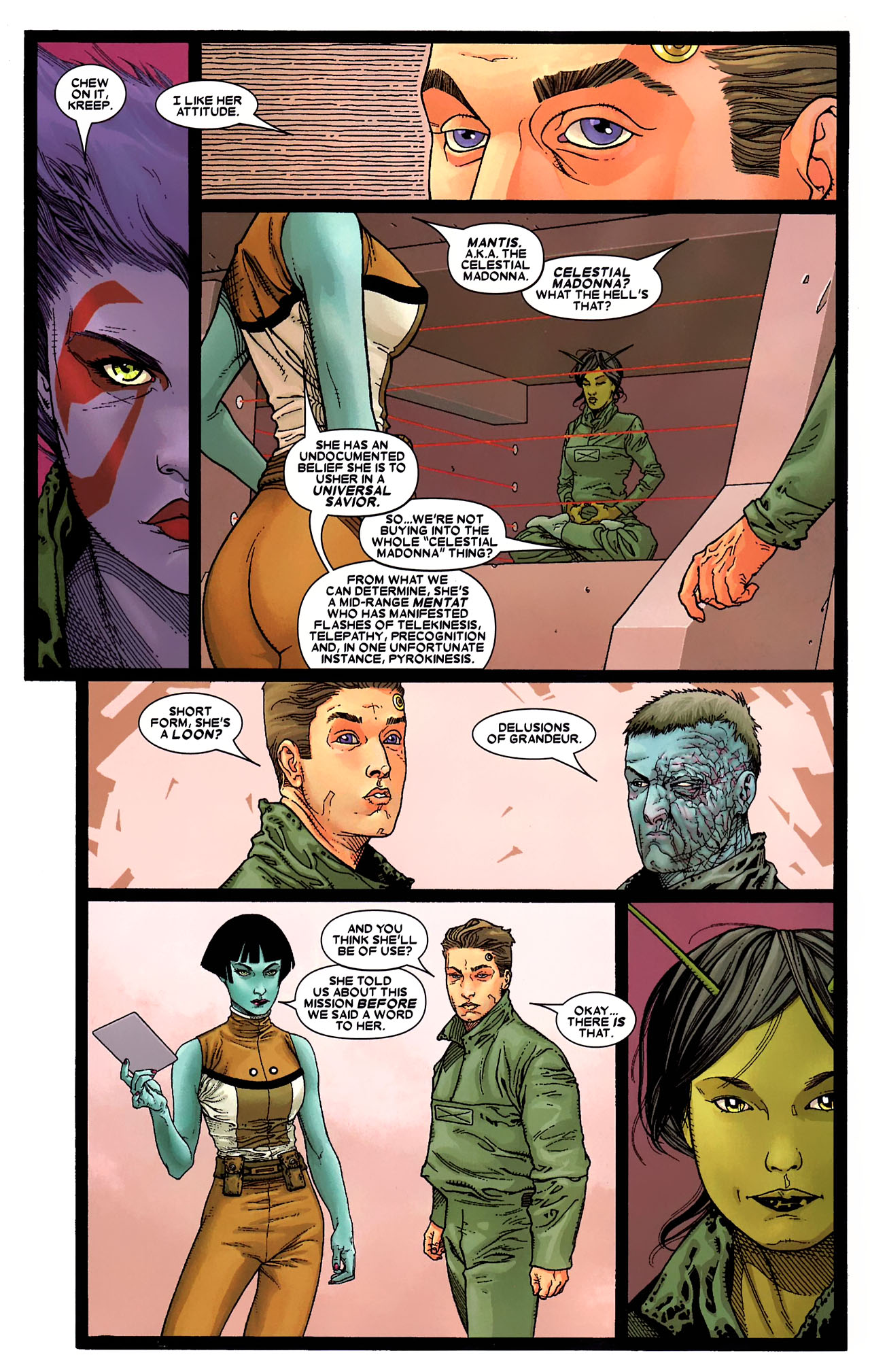 Read online Annihilation: Conquest - Starlord comic -  Issue #1 - 14