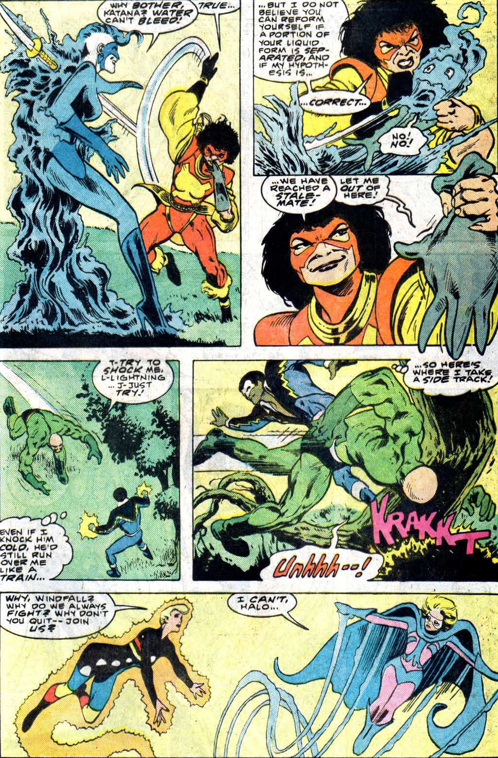 Read online Adventures of the Outsiders comic -  Issue #33 - 17