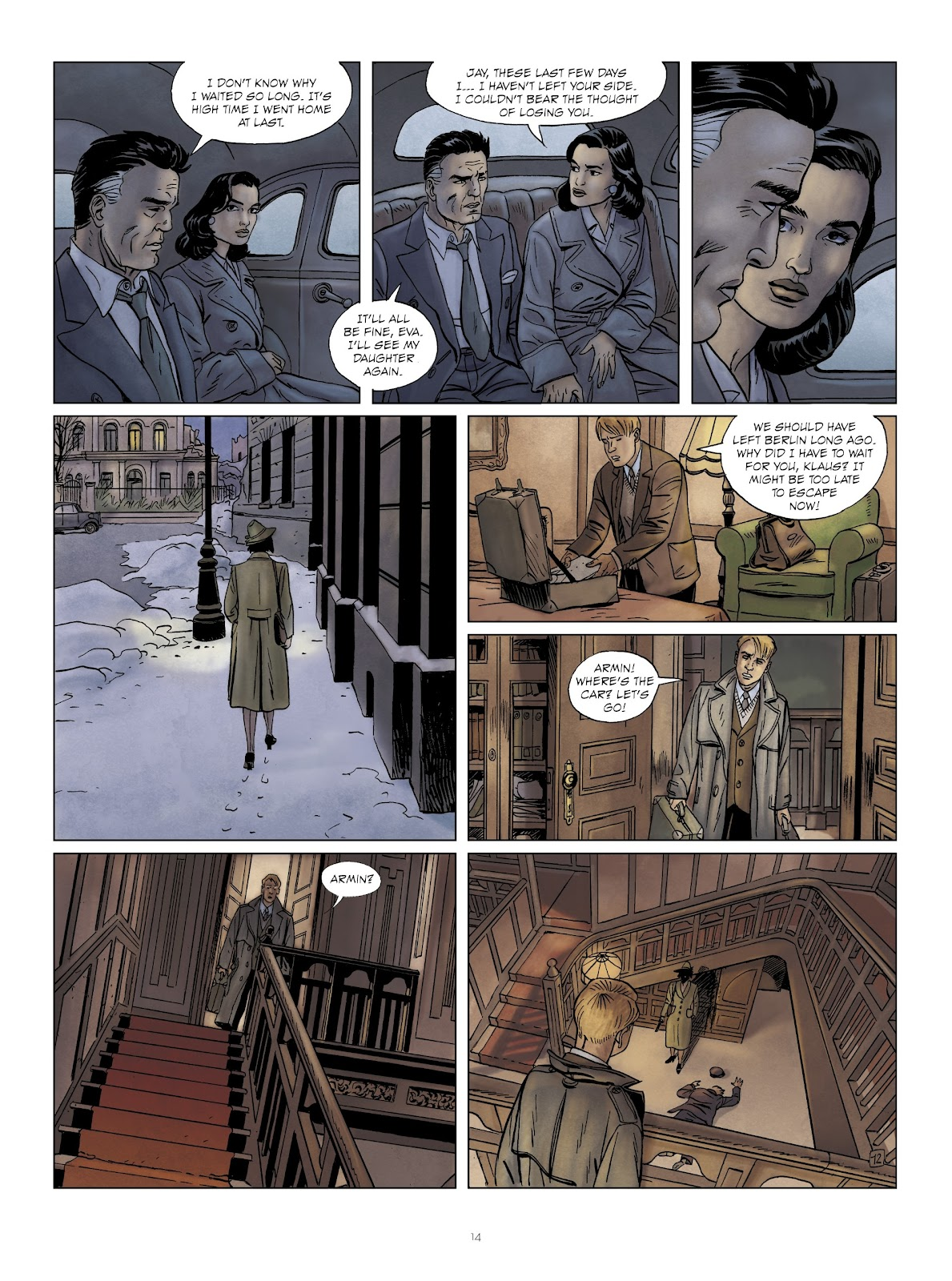 Read online Sherman comic -  Issue #6 - 14