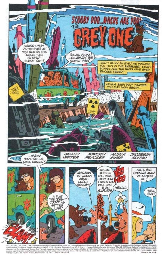 Read online Scooby-Doo (1995) comic -  Issue #5 - 2