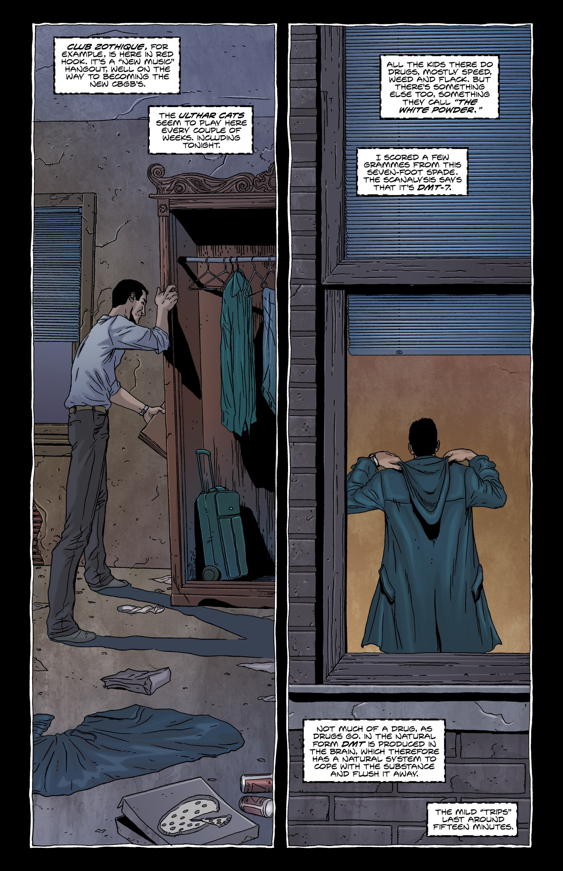 Read online Alan Moore's The Courtyard comic -  Issue # TPB - 17