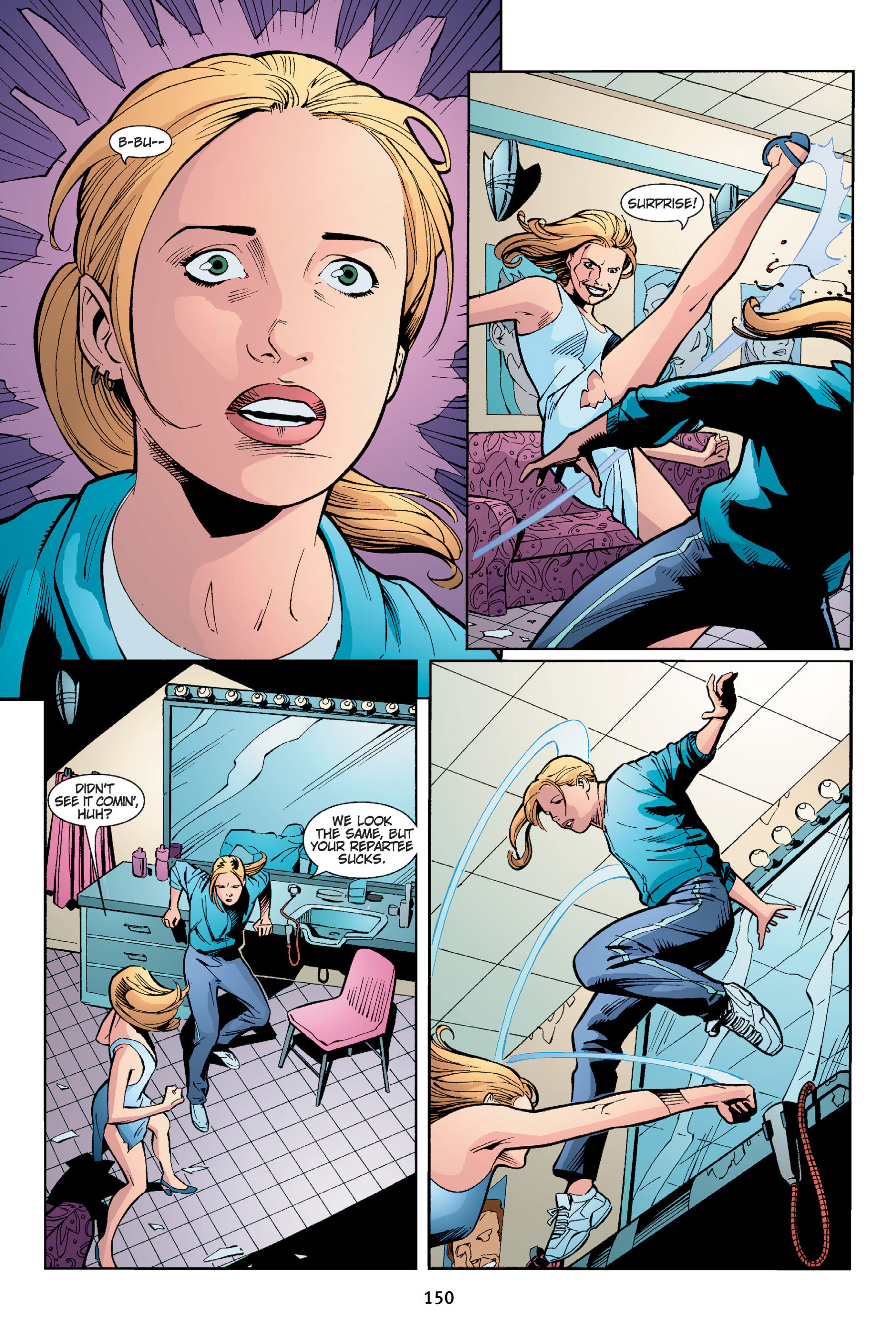Read online Buffy the Vampire Slayer: Omnibus comic -  Issue # TPB 4 - 151