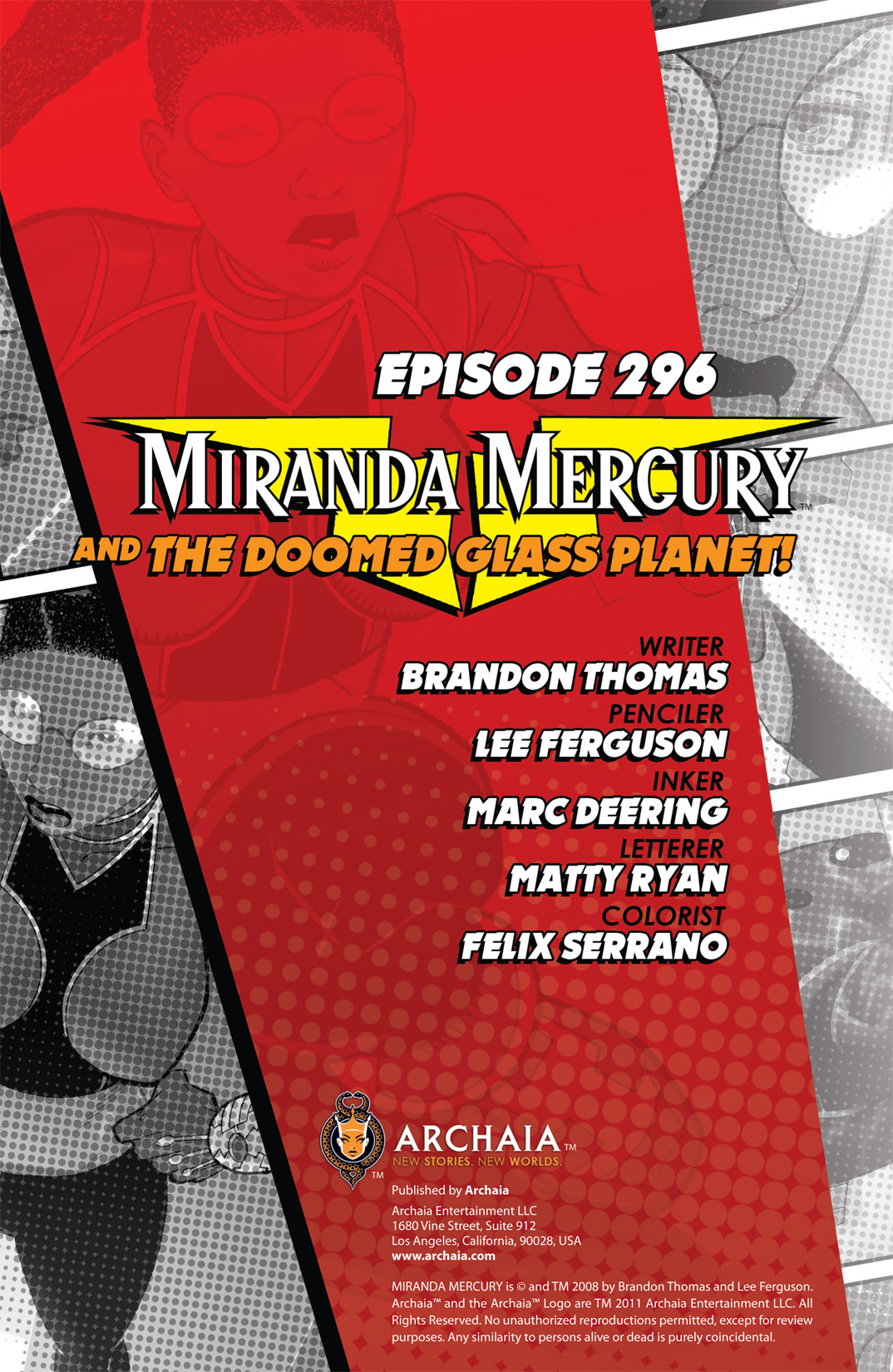Read online The Many Adventures of Miranda Mercury: Time Runs Out comic -  Issue # TPB - 41