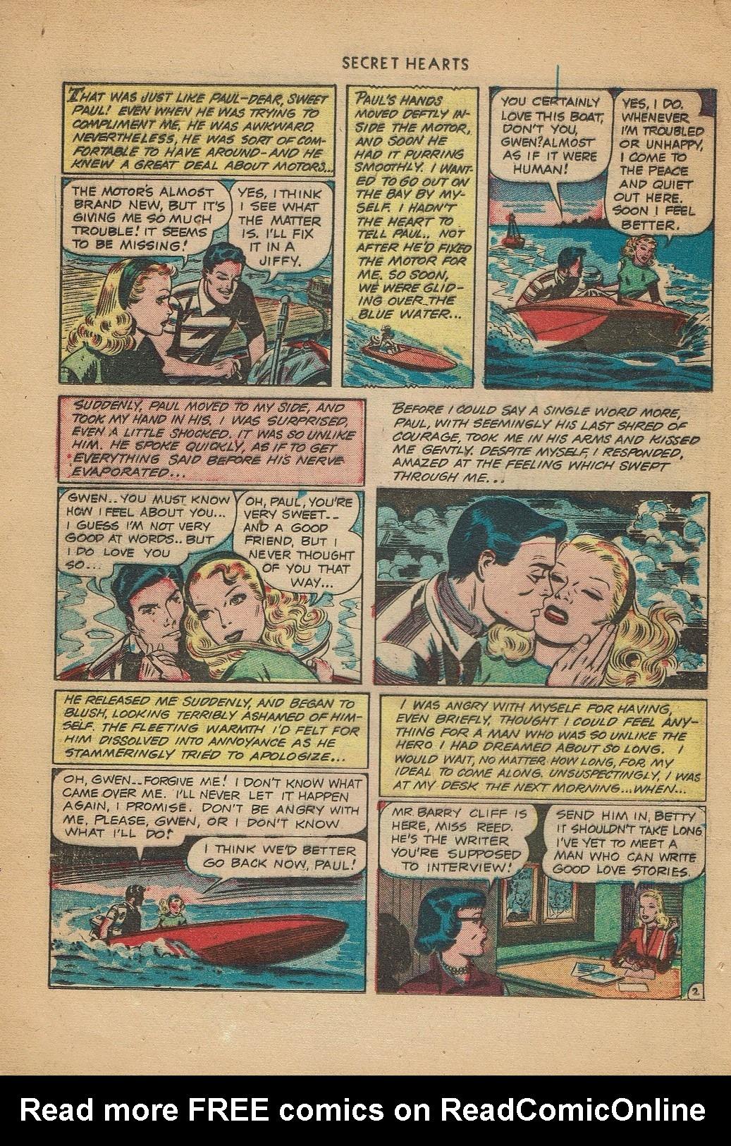 Read online Secret Hearts comic -  Issue #2 - 4