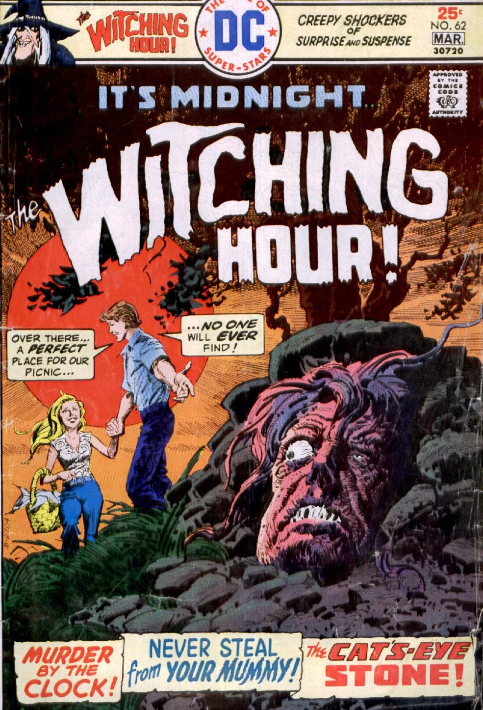 The Witching Hour (1969) issue 62 - Page 1