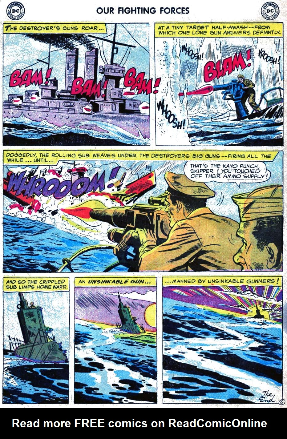 Our Fighting Forces (1954) issue 17 - Page 32