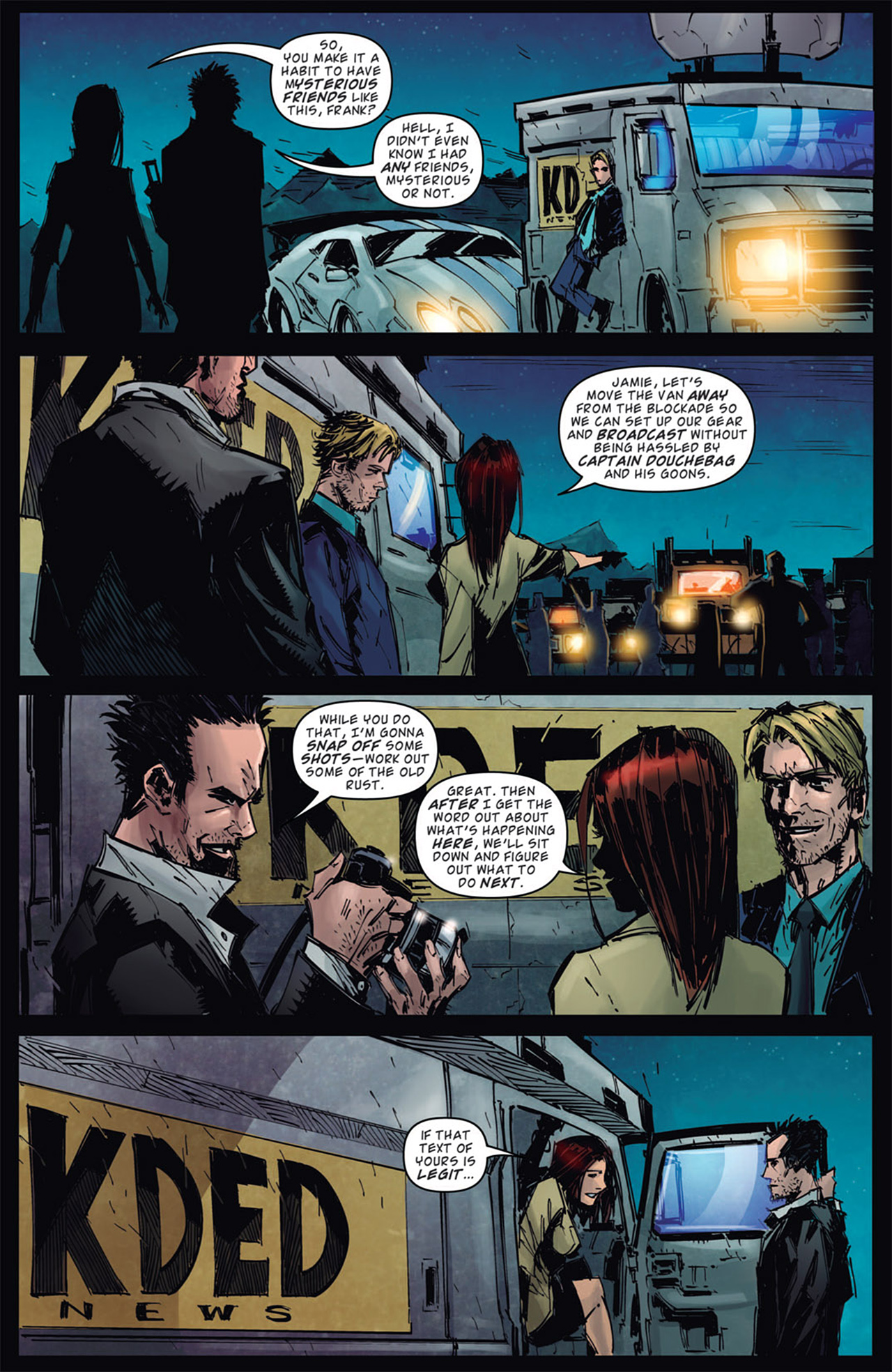 Read online Dead Rising: Road to Fortune comic -  Issue # TPB - 93