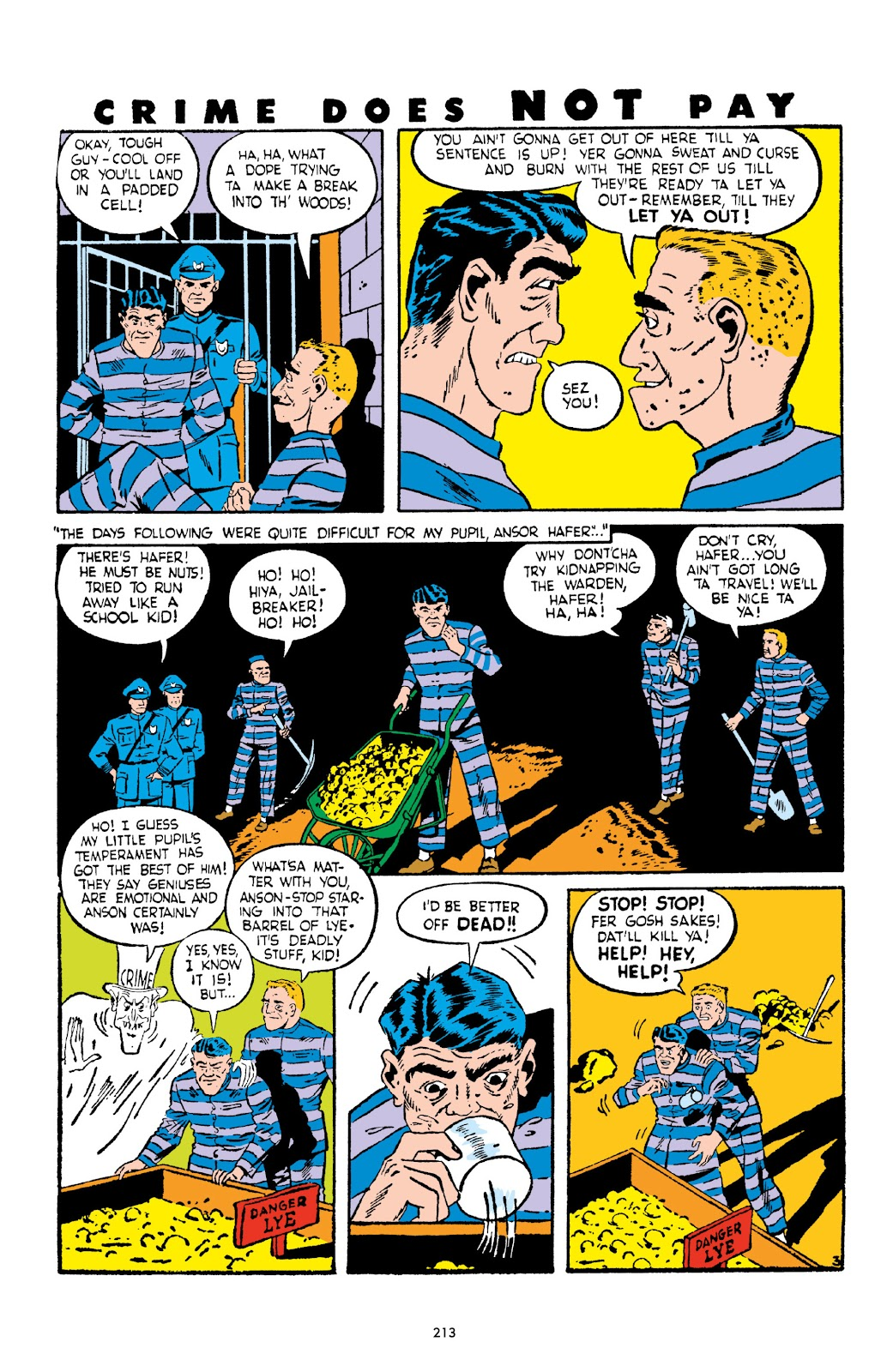 Read online Crime Does Not Pay Archives comic -  Issue # TPB 2 (Part 3) - 13