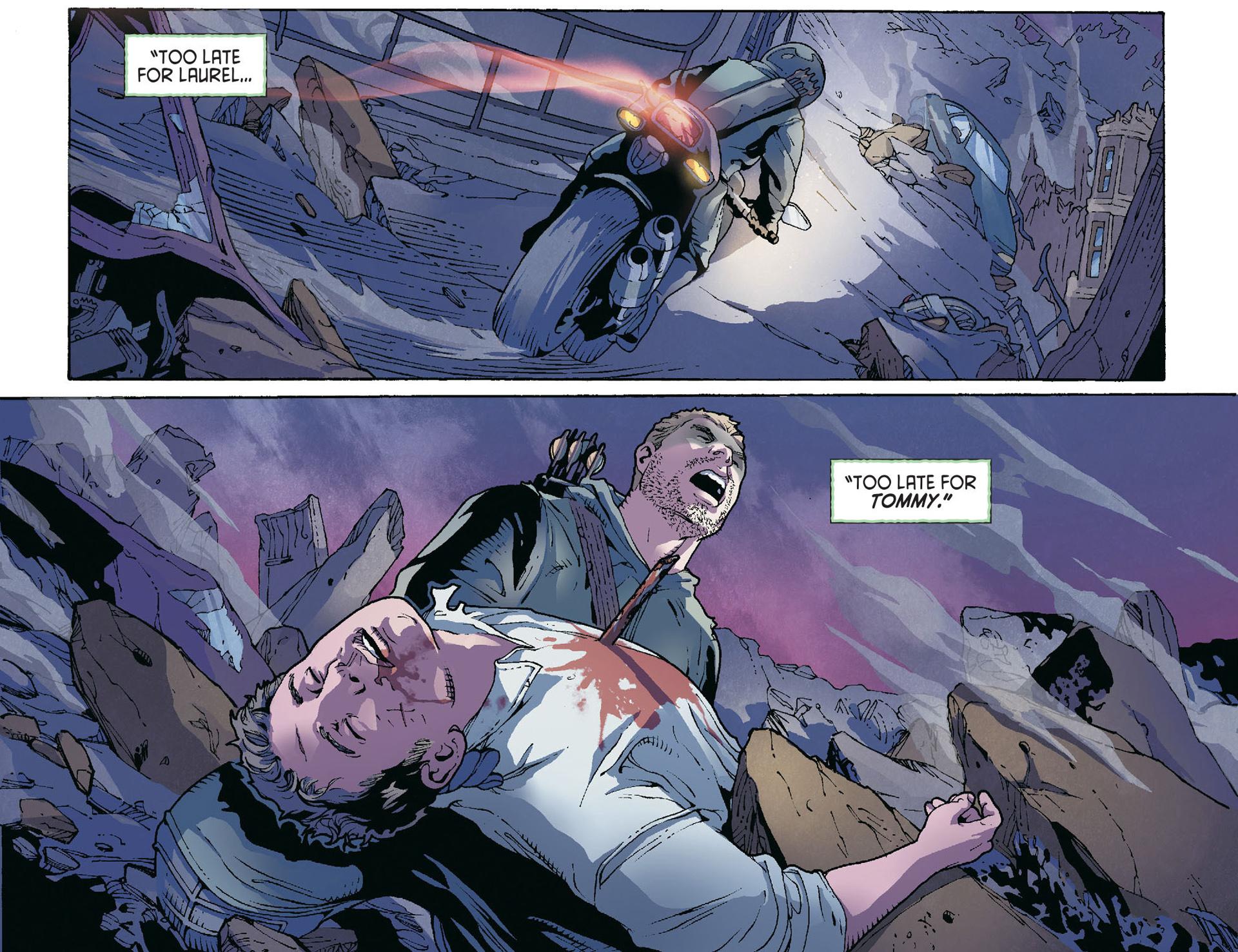 Read online Arrow [II] comic -  Issue #36 - 20