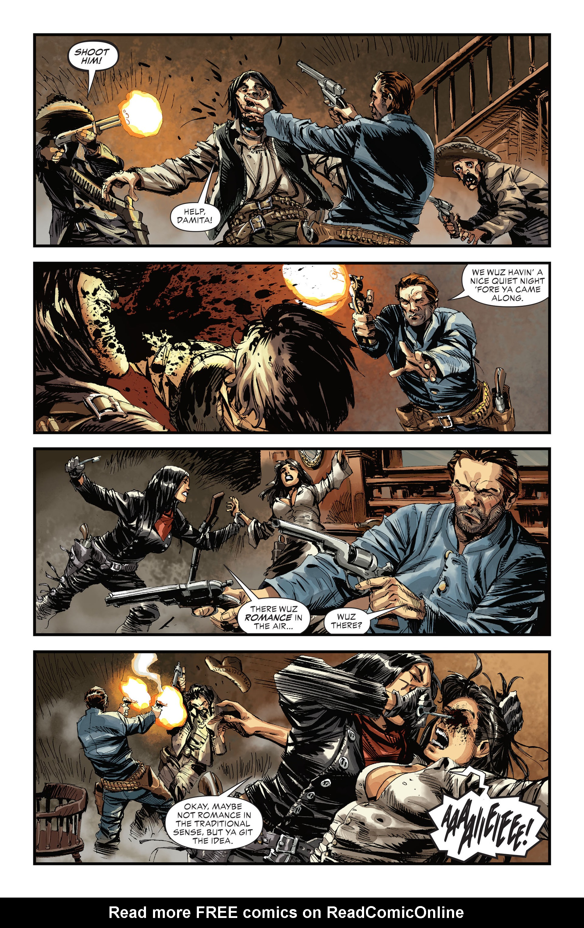 Read online All-Star Western (2011) comic -  Issue #31 - 4