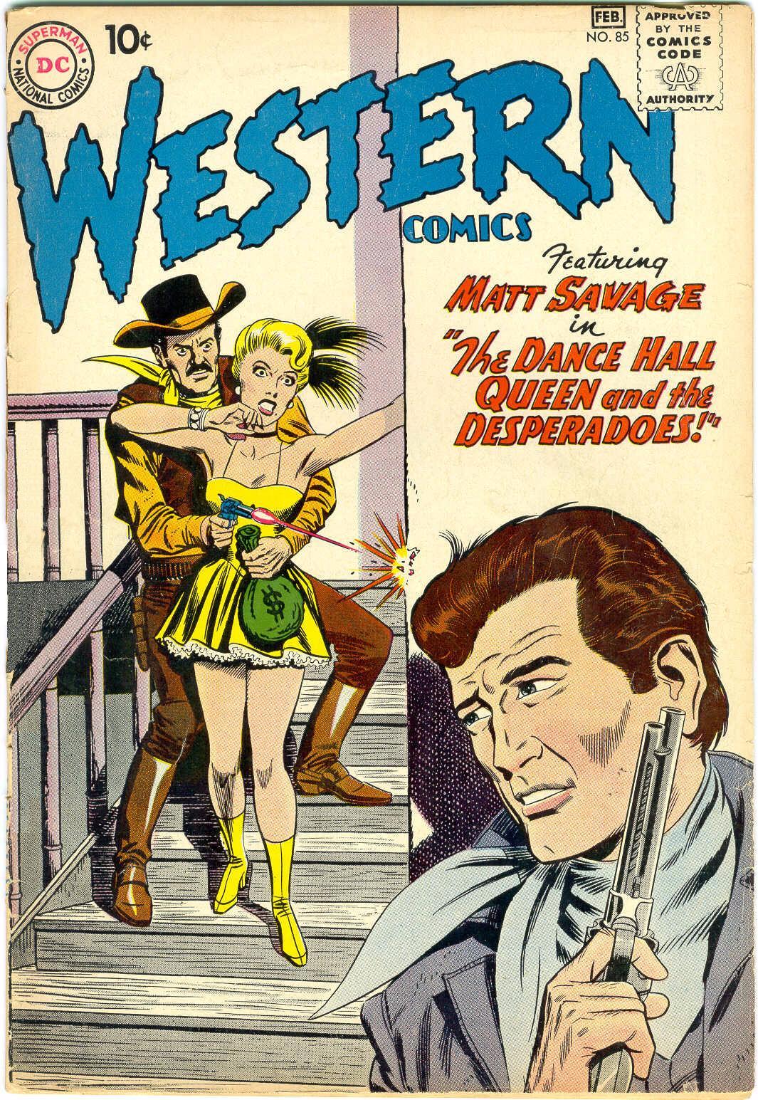 Western Comics 85 Page 1
