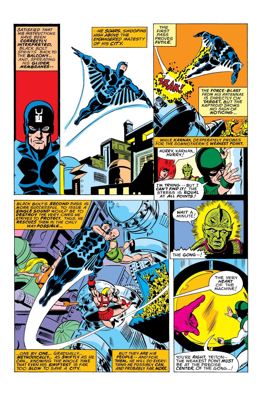 Read online Marvel Masterworks: The Inhumans comic -  Issue # TPB 2 (Part 1) - 42