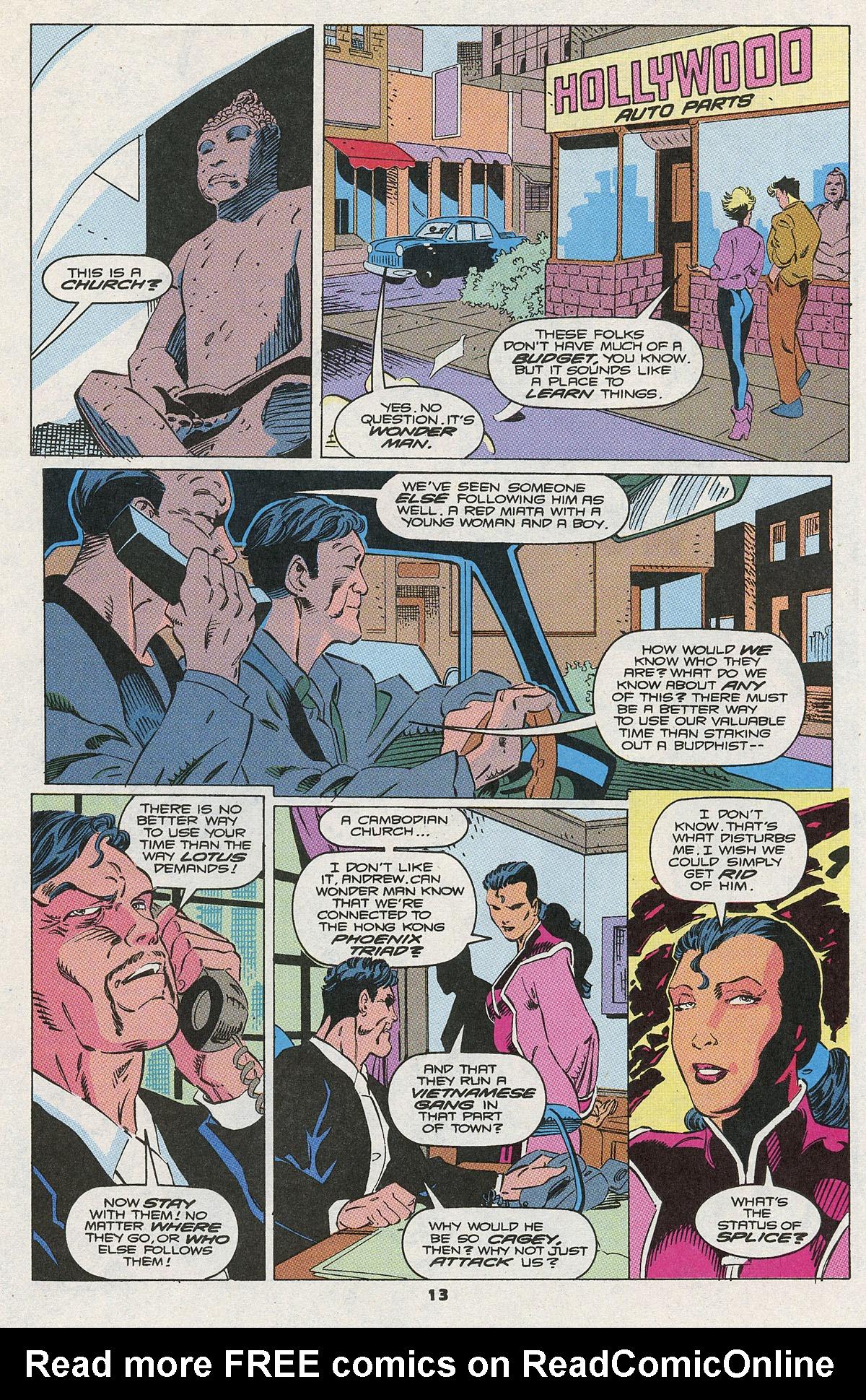 Read online Wonder Man (1991) comic -  Issue #10 - 10