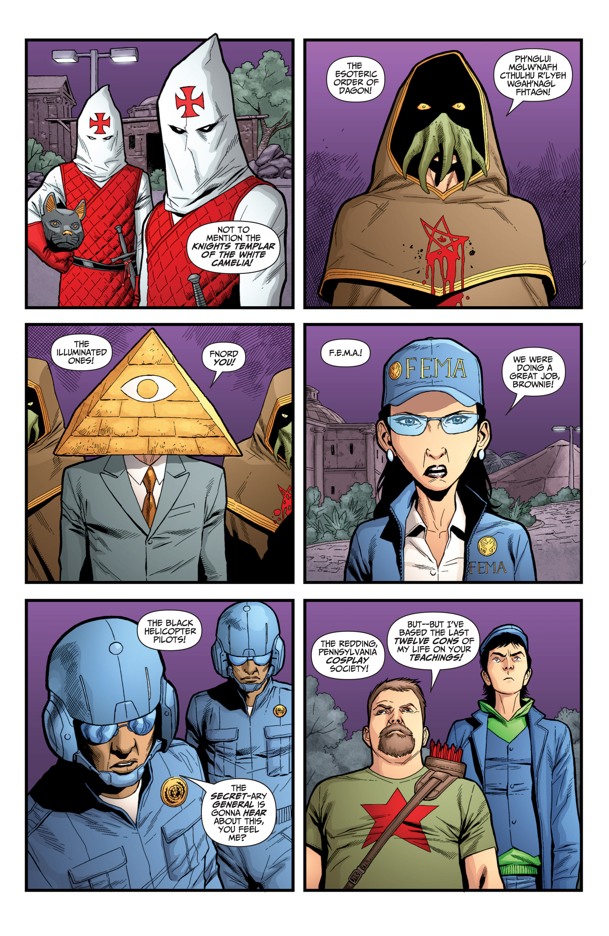 Read online Archer and Armstrong comic -  Issue #Archer and Armstrong _TPB 6 - 98