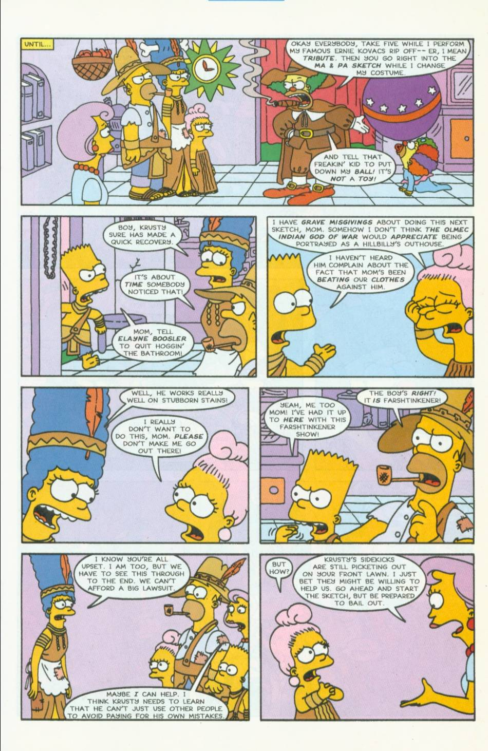 Read online Simpsons Comics comic -  Issue #40 - 18