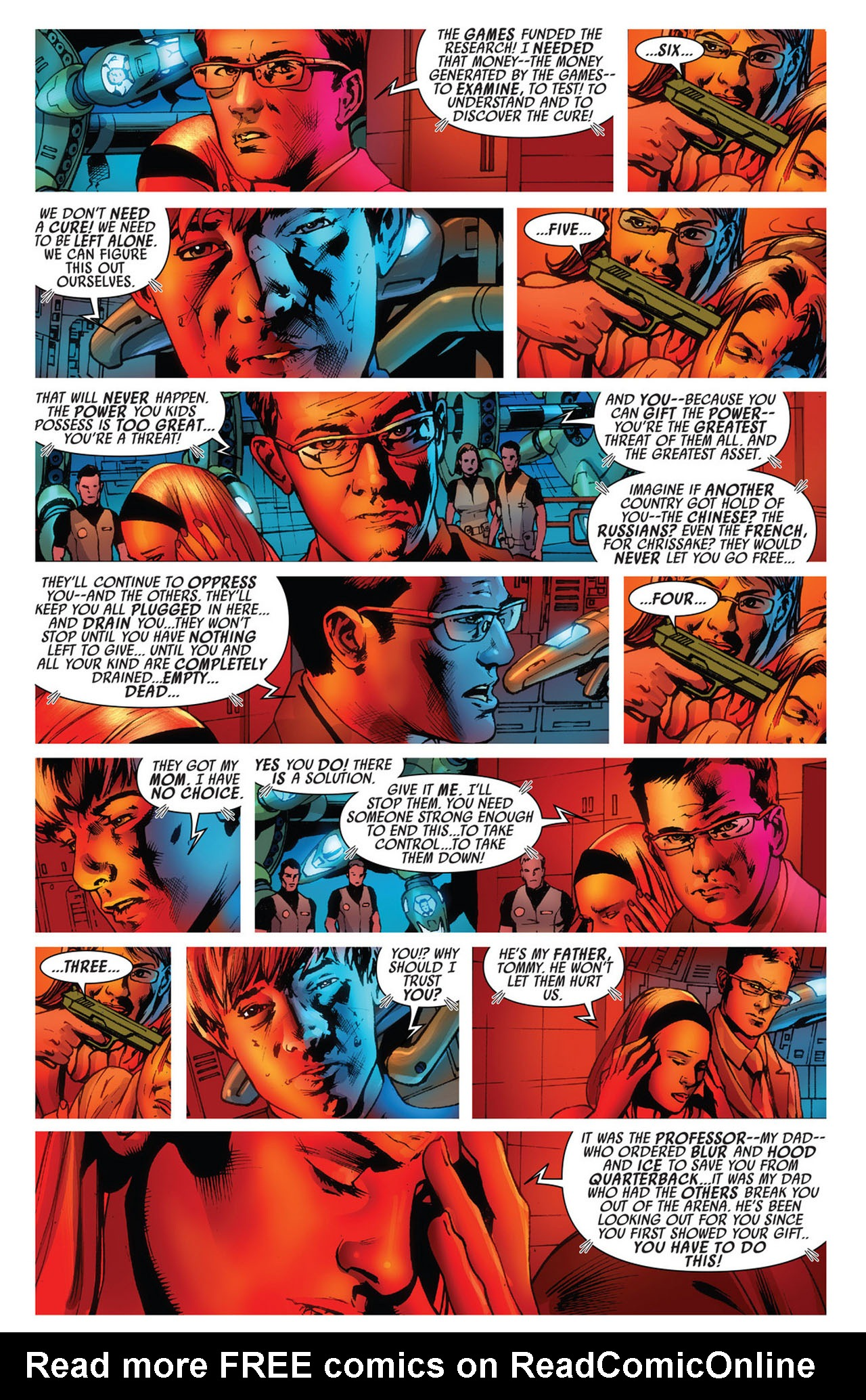 Read online America's Got Powers comic -  Issue #5 - 17