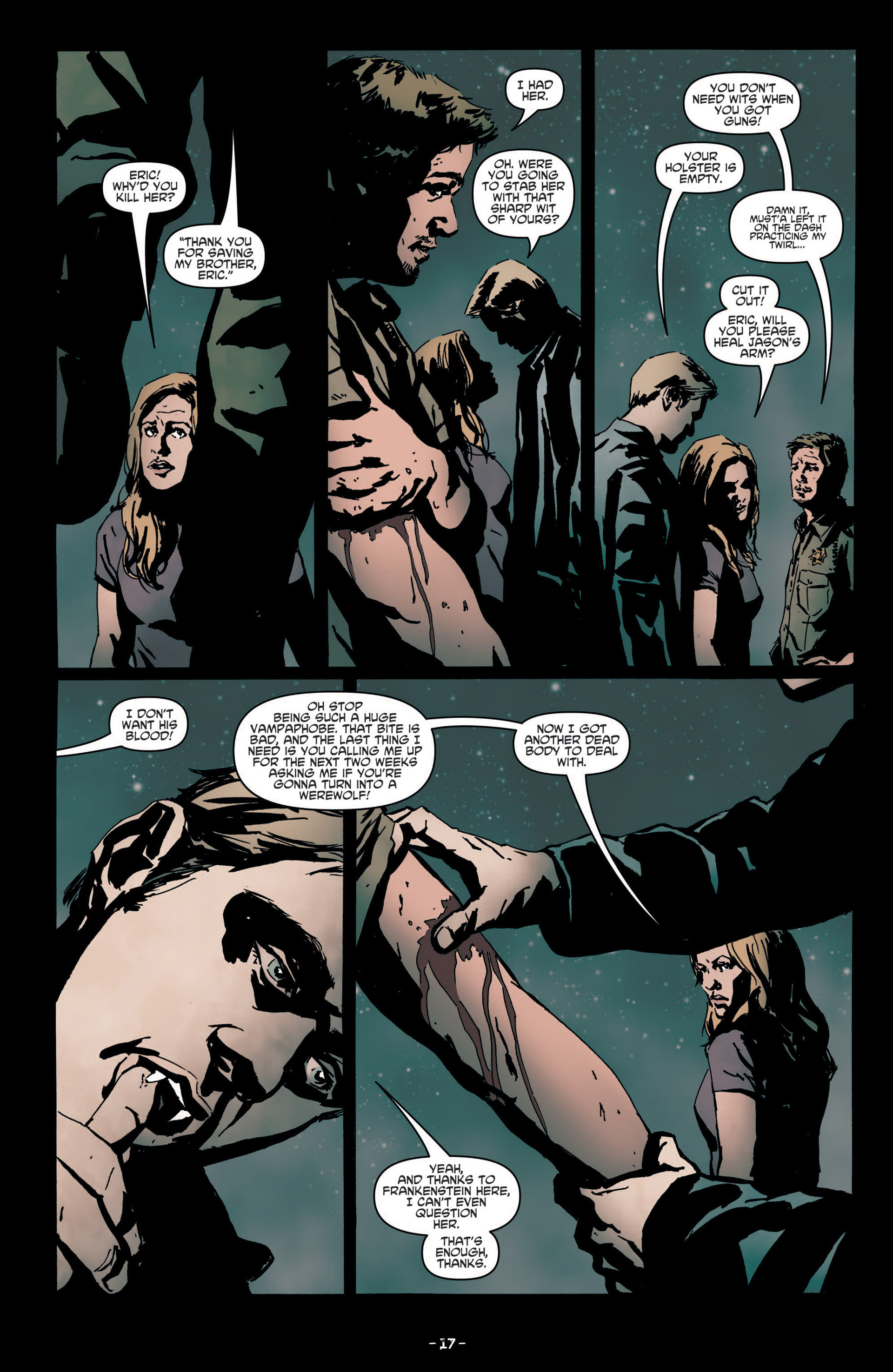 Read online True Blood (2012) comic -  Issue #7 - 19